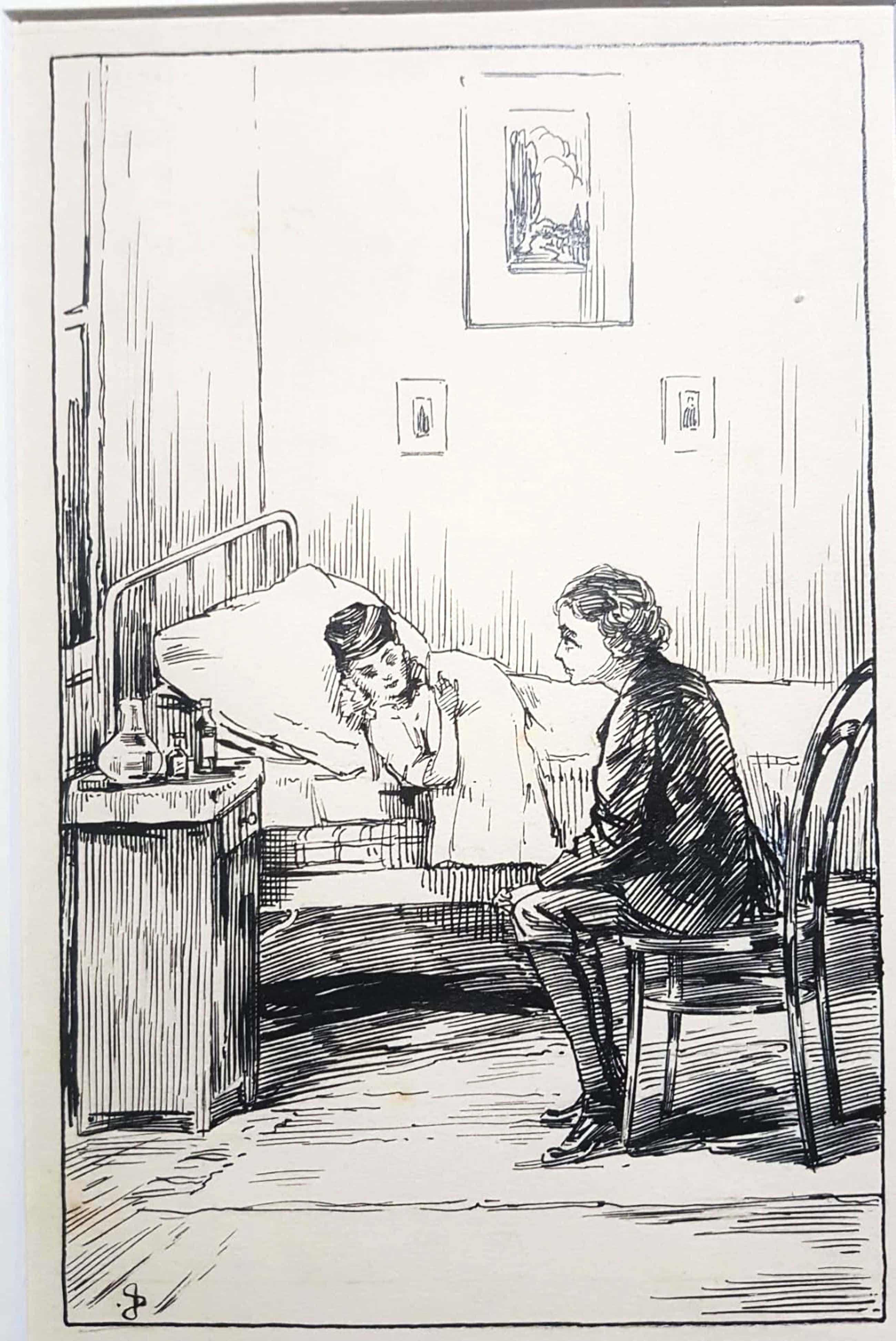 Jan Sluijters - Jan Sluijters sr 1881-1957 Originele tekening handgesigneerd in passe partout kopen? Bied vanaf 120!