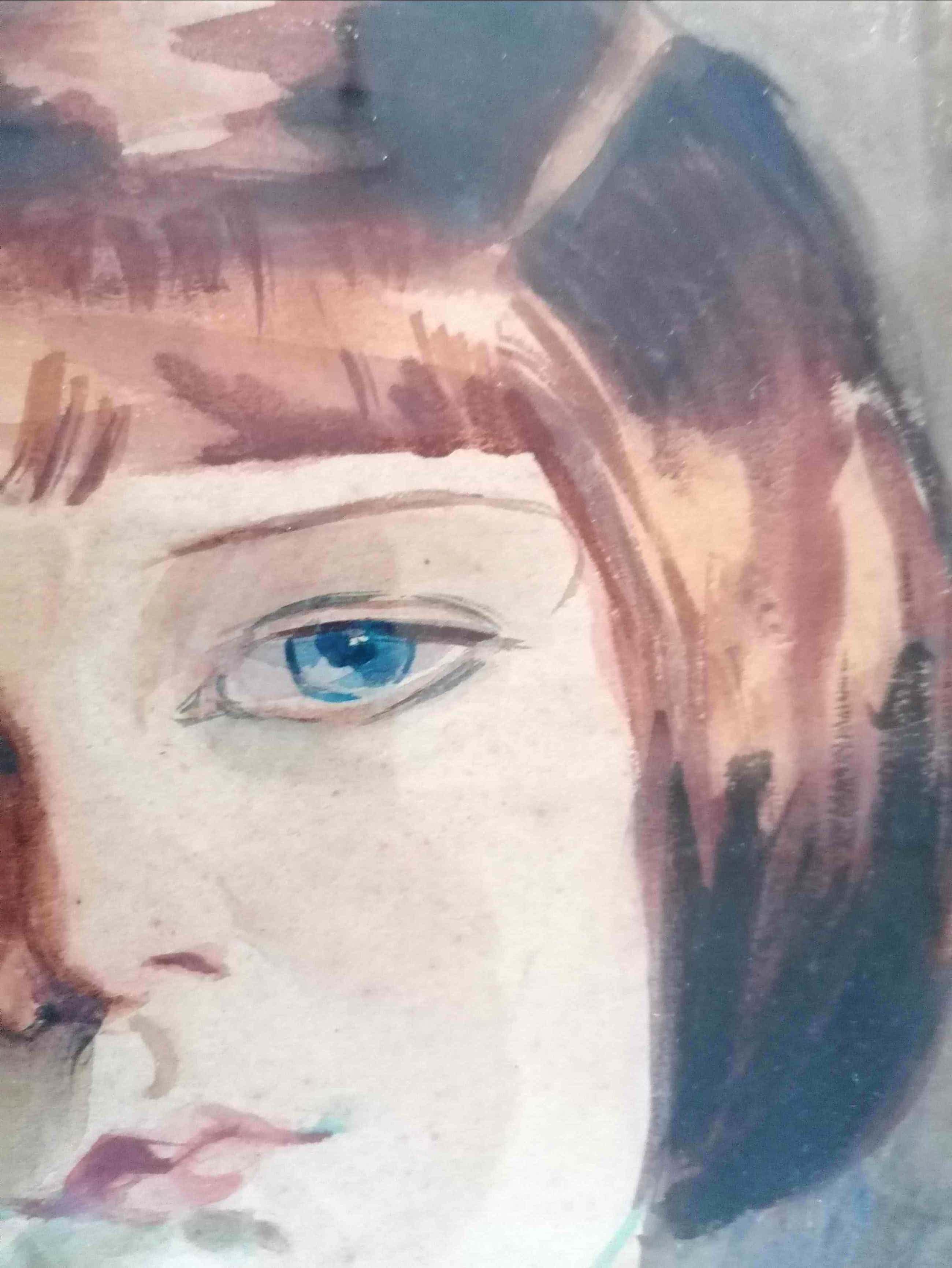 August Oleffe - ' Portret van een jong meisje' kopen? Bied vanaf 295!