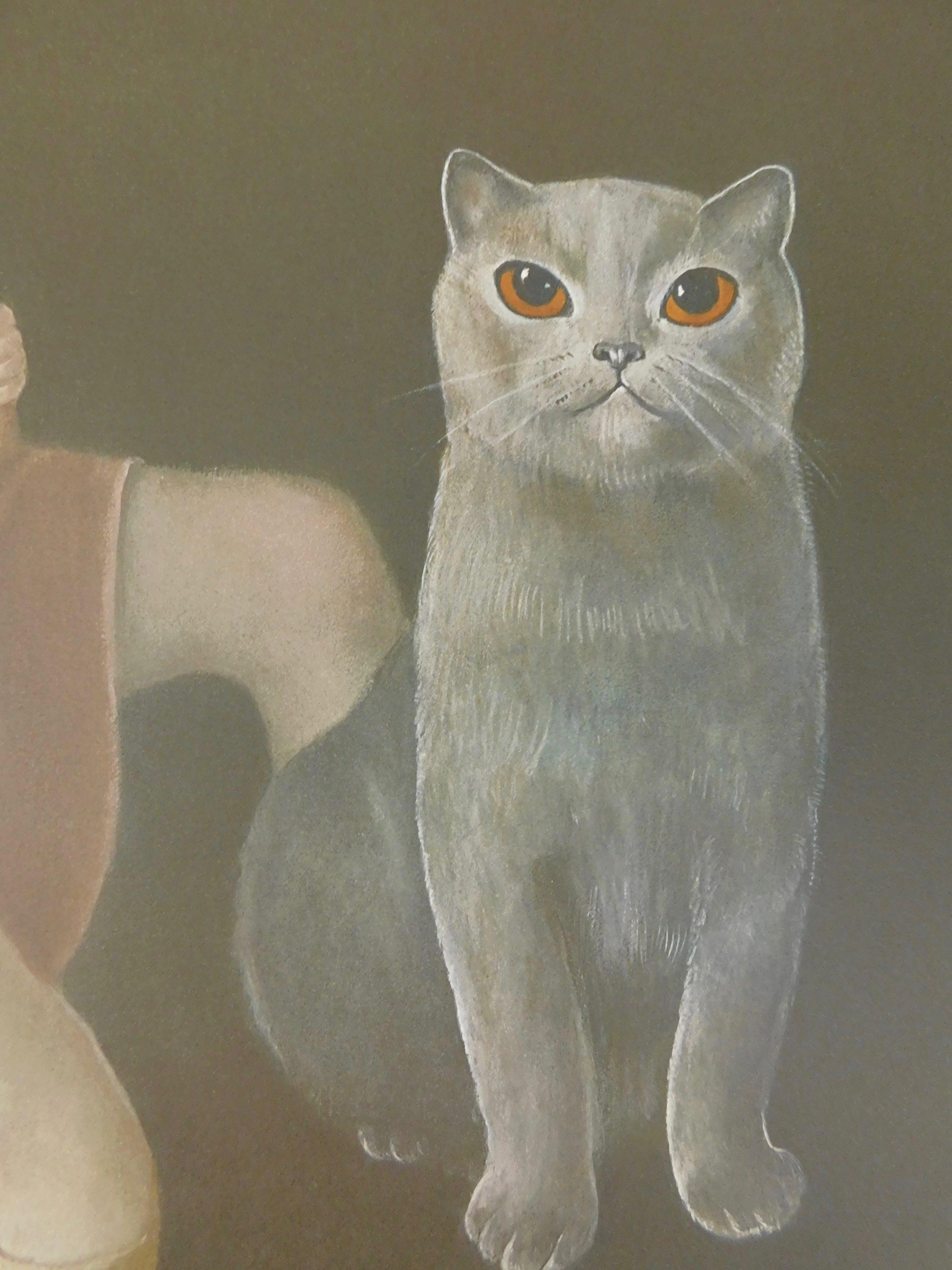 Leonor Fini - La Fille et le Chat kopen? Bied vanaf 35!