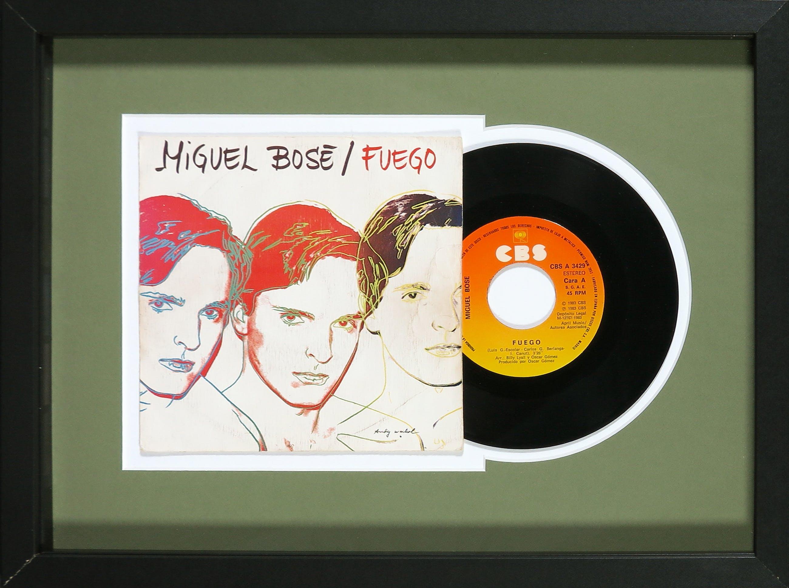 Andy Warhol - Miguel Bosé - Fuego kopen? Bied vanaf 1!