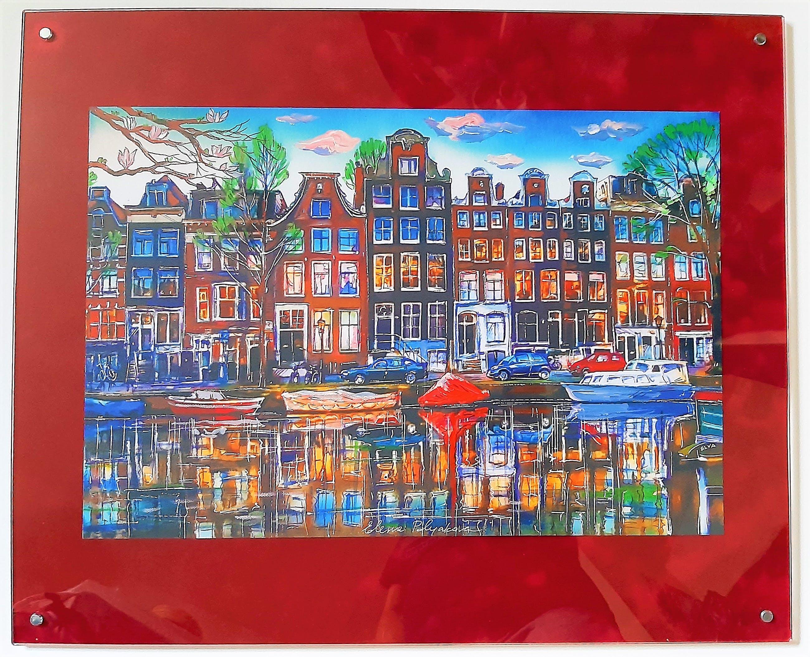 Elena Polyakova - Houses and magnolia in Amsterdam kopen? Bied vanaf 155!