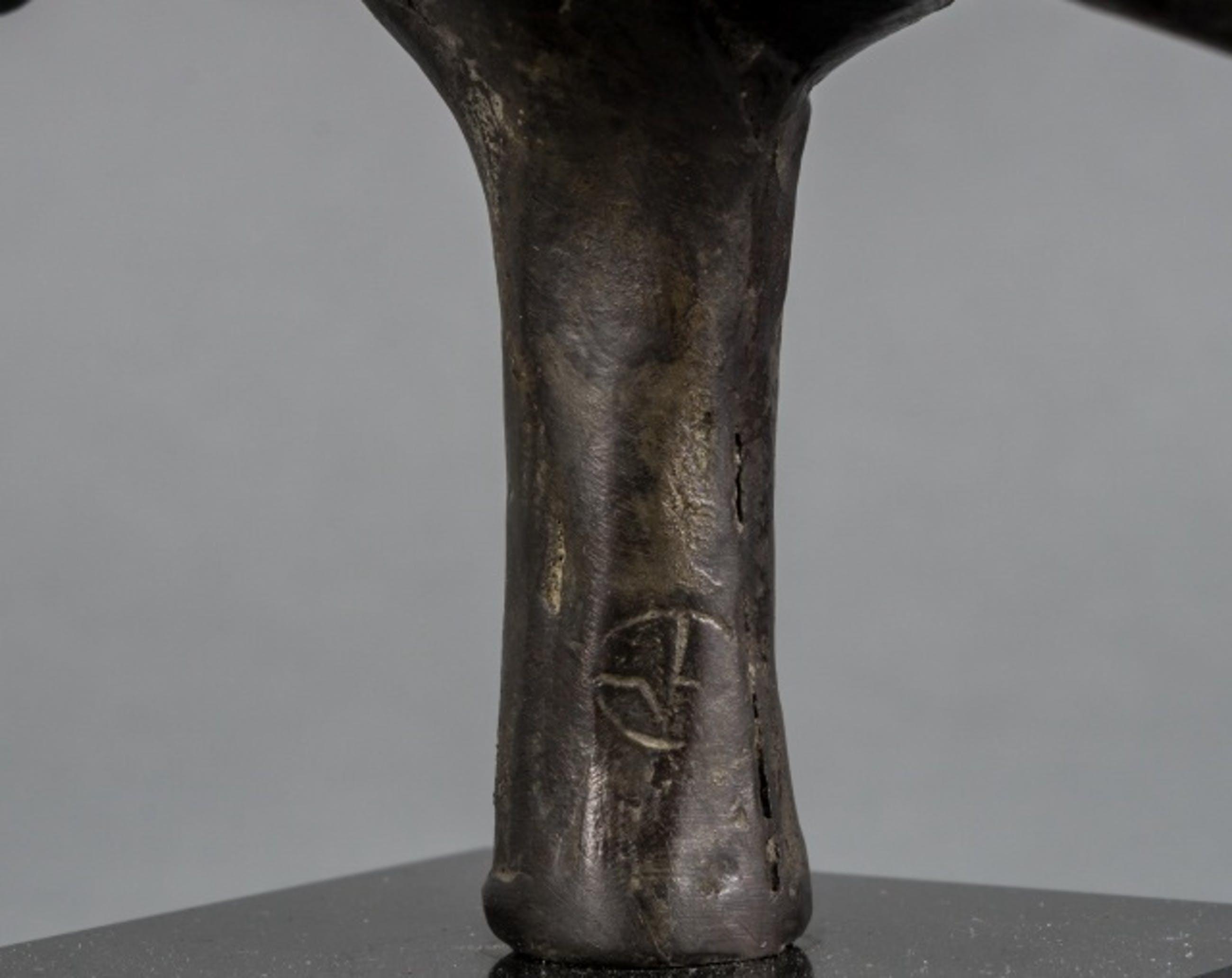 Evert van Hemert - Bronzen beeld: ochtend rit kopen? Bied vanaf 1450!