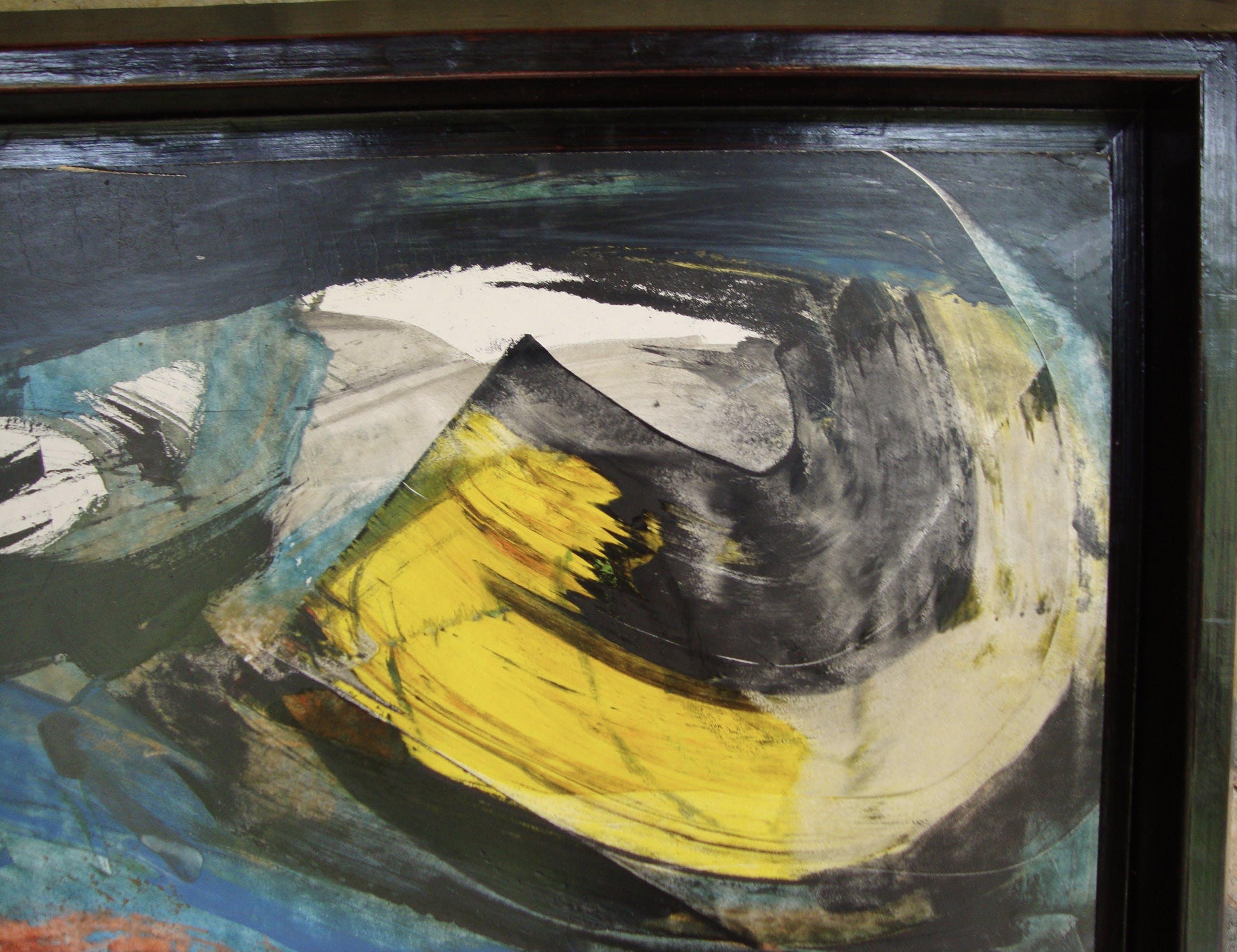 Jan te Wierik - abstract werk kopen? Bied vanaf 350!