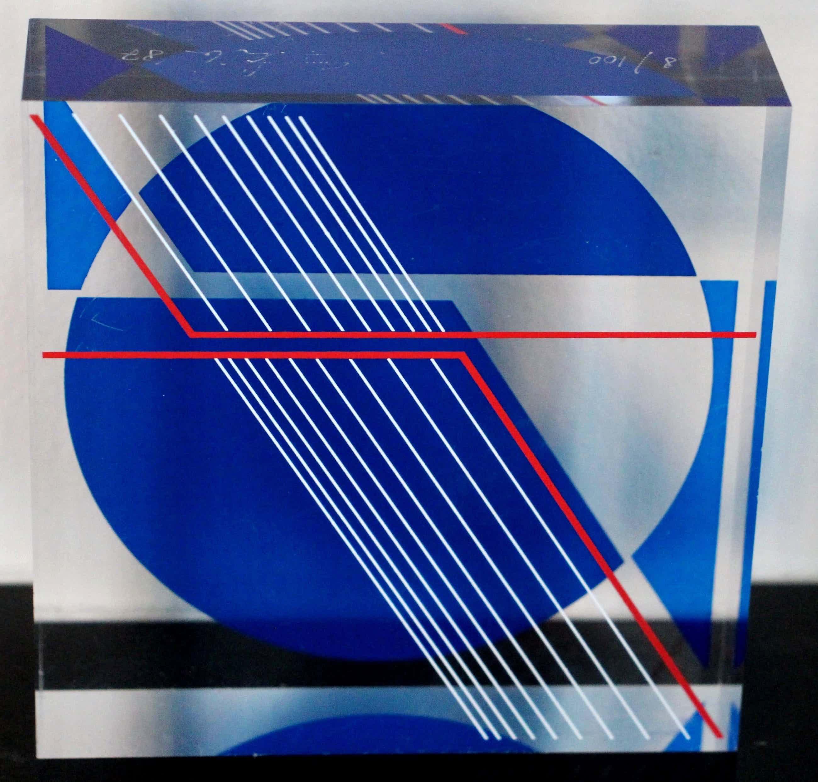Friedrich Geiler - Gesigneerde en genummerde sculptuur van plexiglas kopen? Bied vanaf 250!