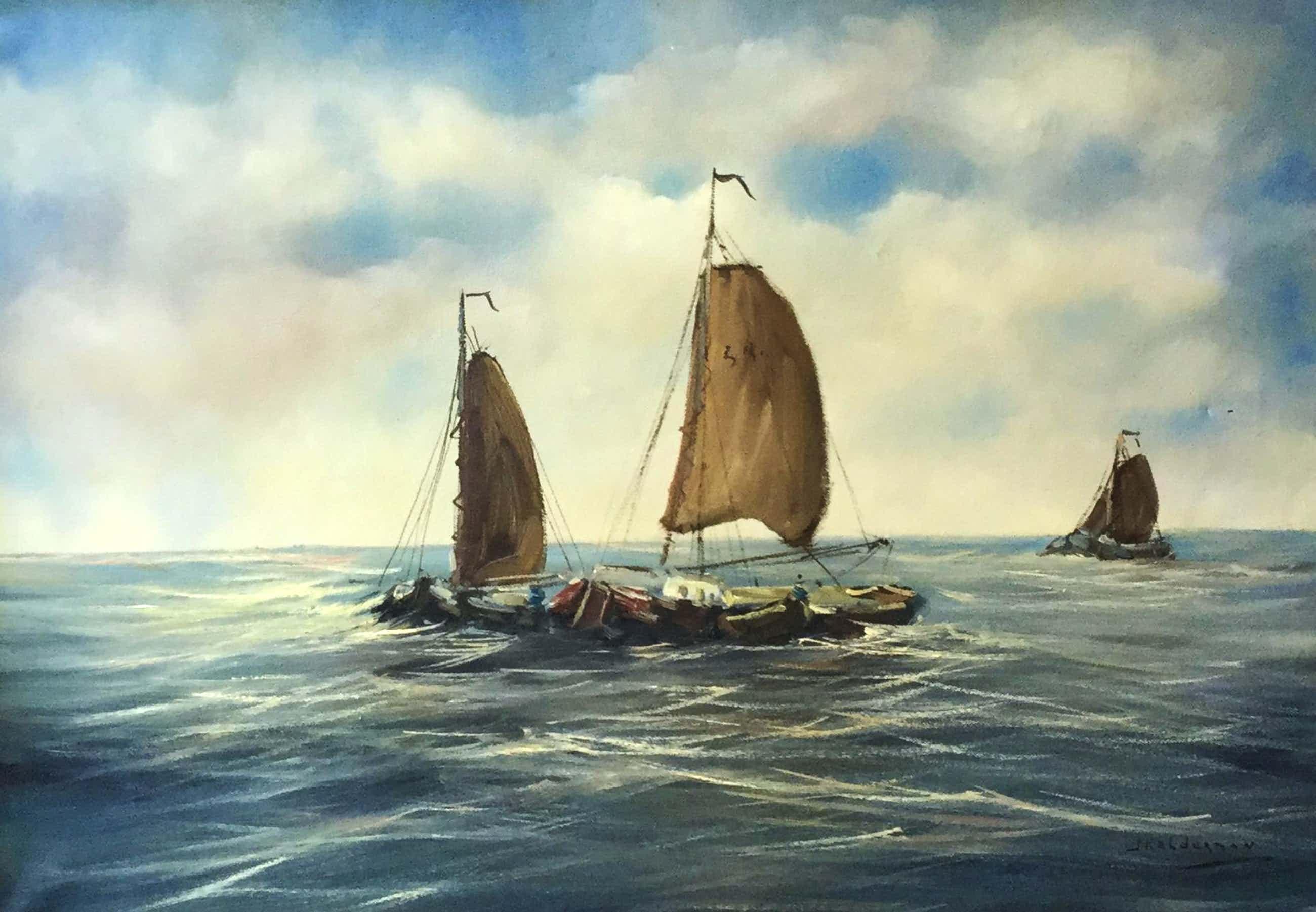 Jan Kelderman - C4780-2, Varende boten kopen? Bied vanaf 75!