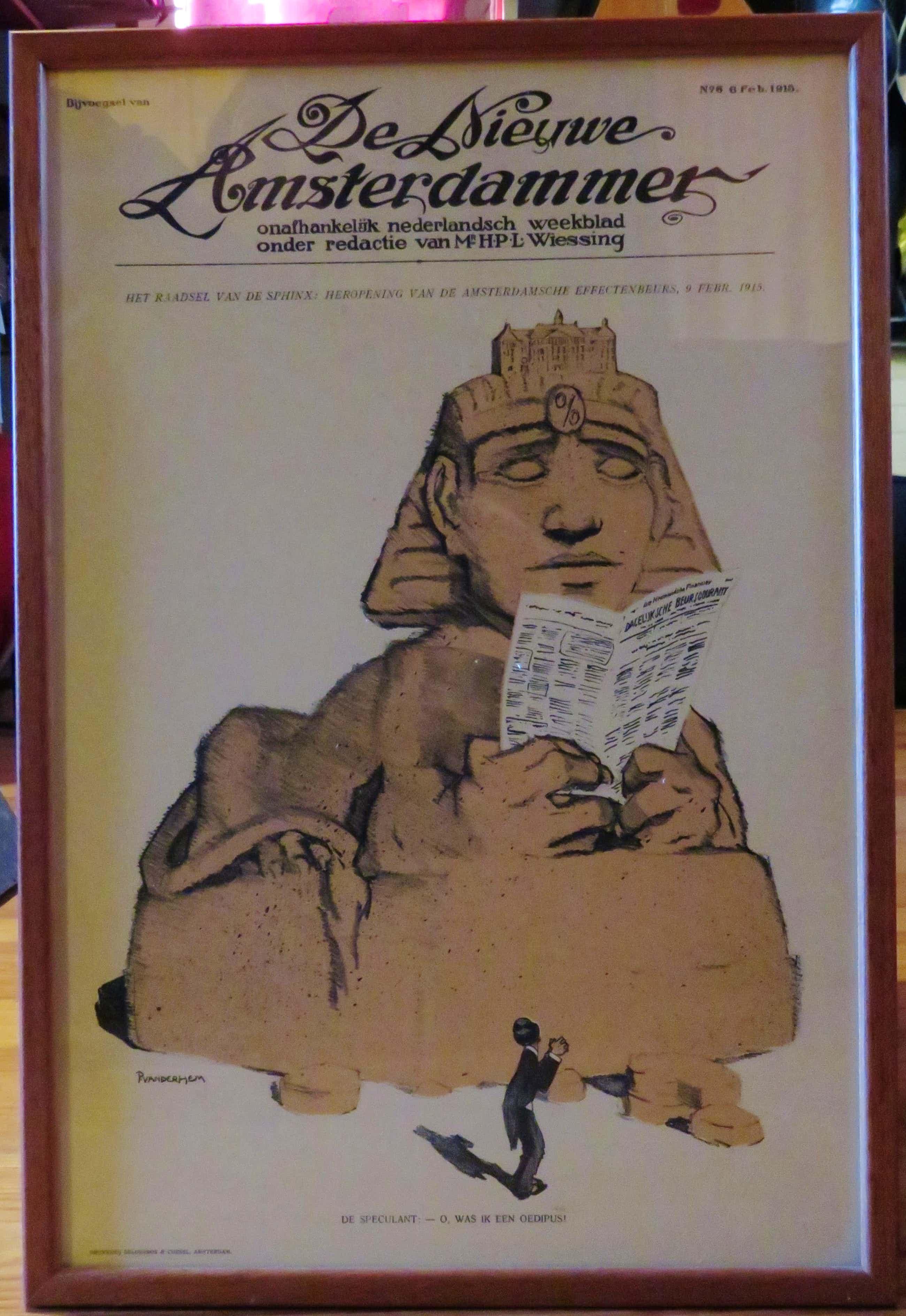 Piet van der Hem - Piet van der Hem (1885-1961) - 4 Litho's uit de Nieuwe Amsterdammer 1915 kopen? Bied vanaf 50!
