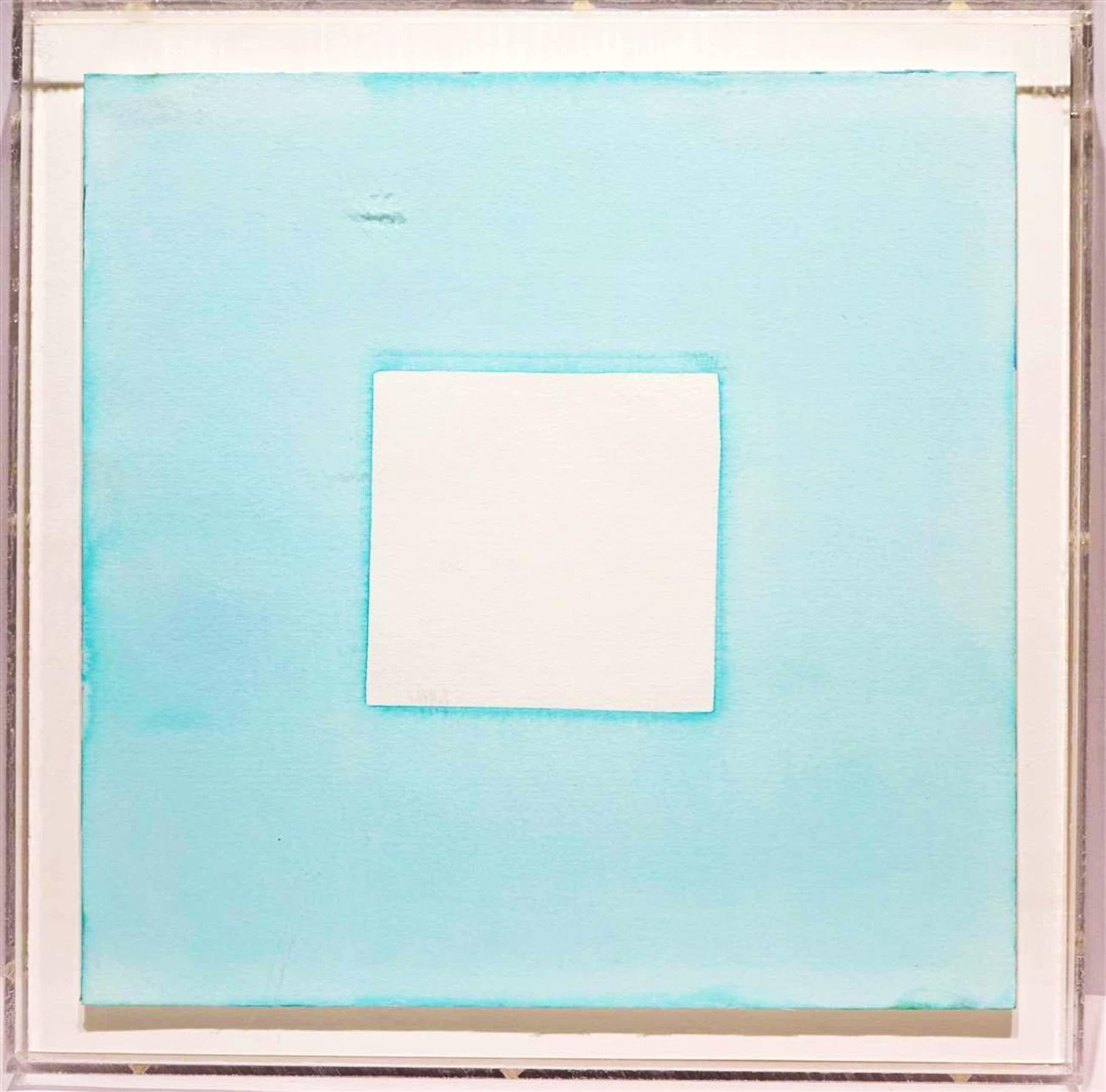 Eric de Nie - Aquarel in plexiglazen behuizing - 2012 kopen? Bied vanaf 160!