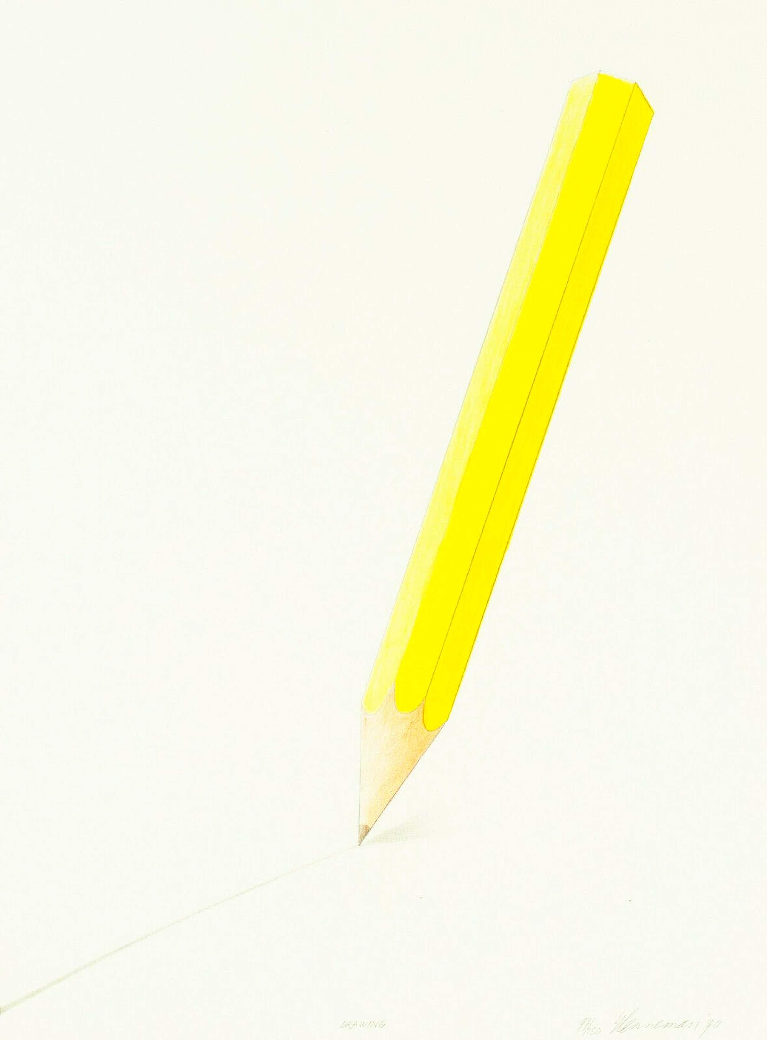 Jeroen Henneman - Drawing/Geel Potlood kopen? Bied vanaf 125!