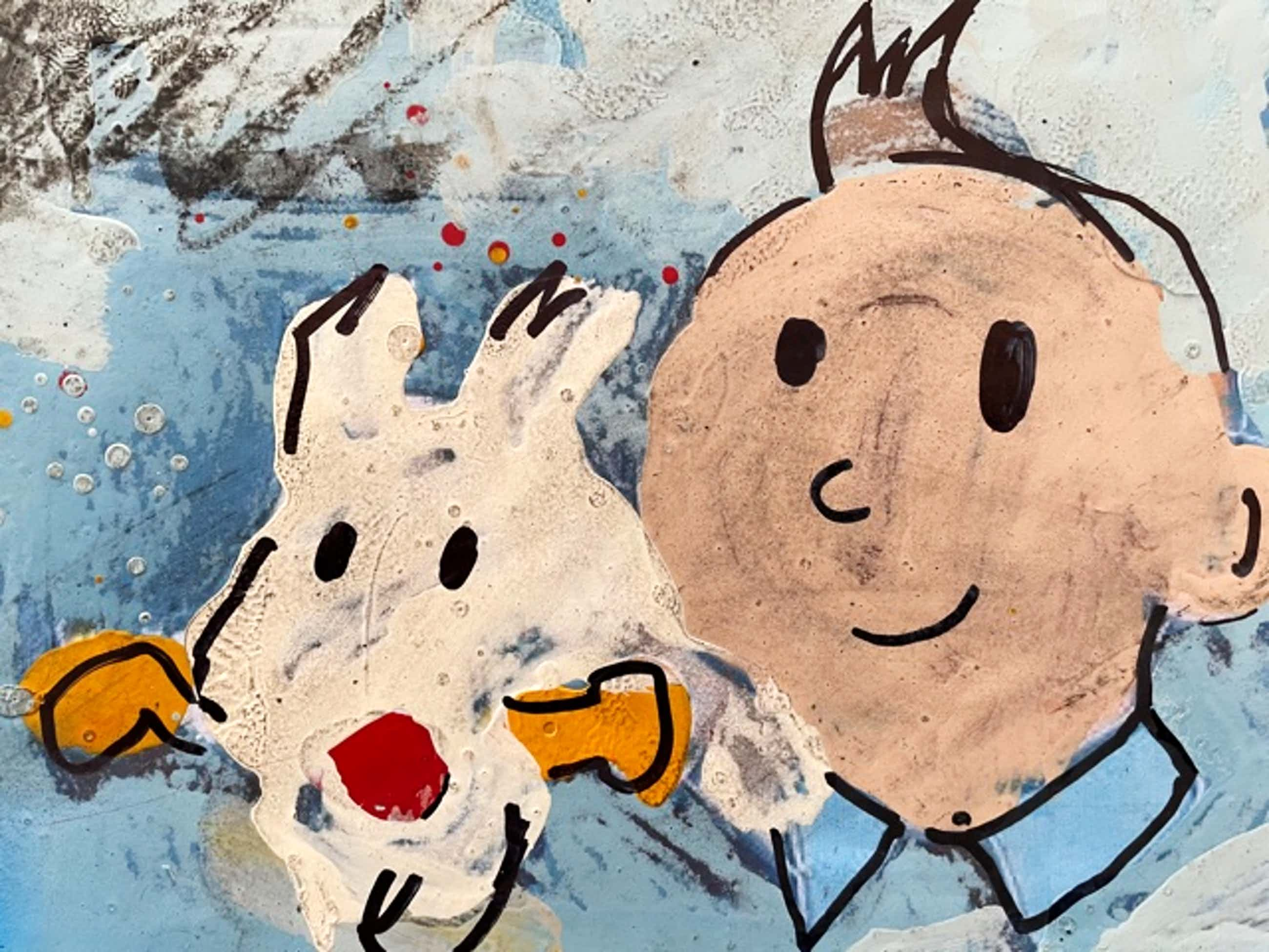 Peter Klashorst - Kuifje / Tintin kopen? Bied vanaf 185!