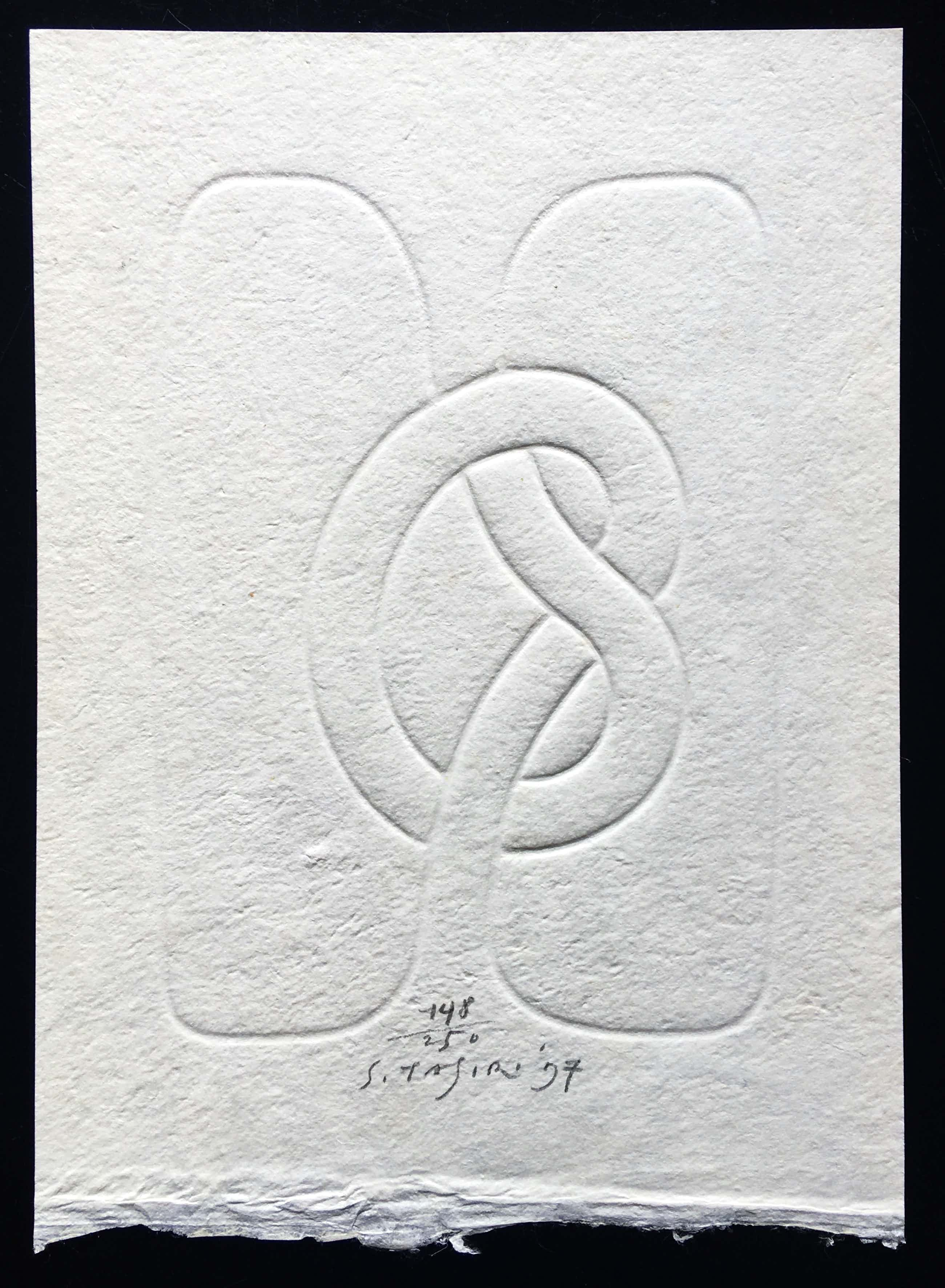 Shinkichi Tajiri - diepdruk 'Knoop' - 1997 - incl. publicatie kopen? Bied vanaf 175!