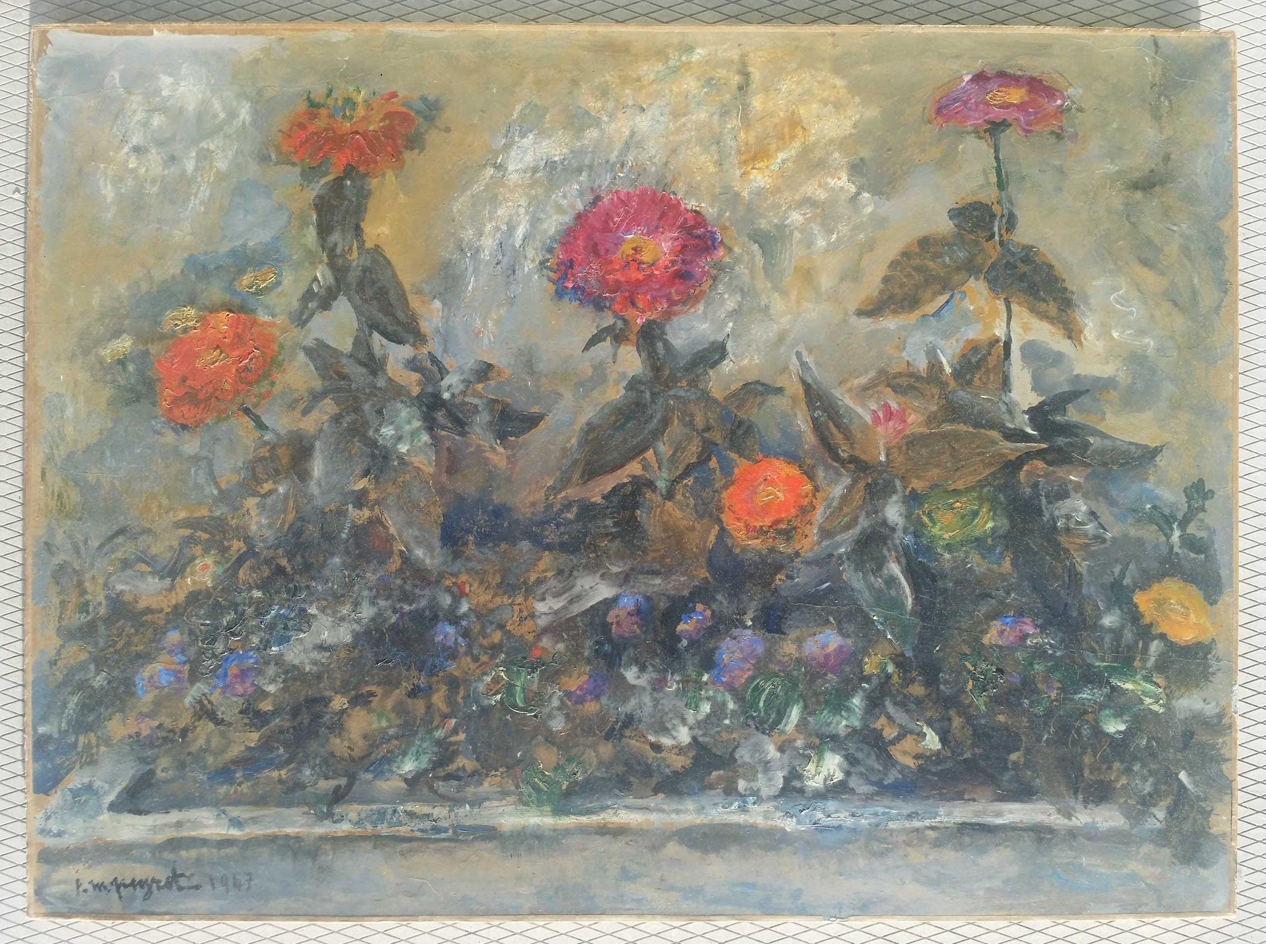Isidore Marie Peyret - Bloemen in het veld. kopen? Bied vanaf 1!