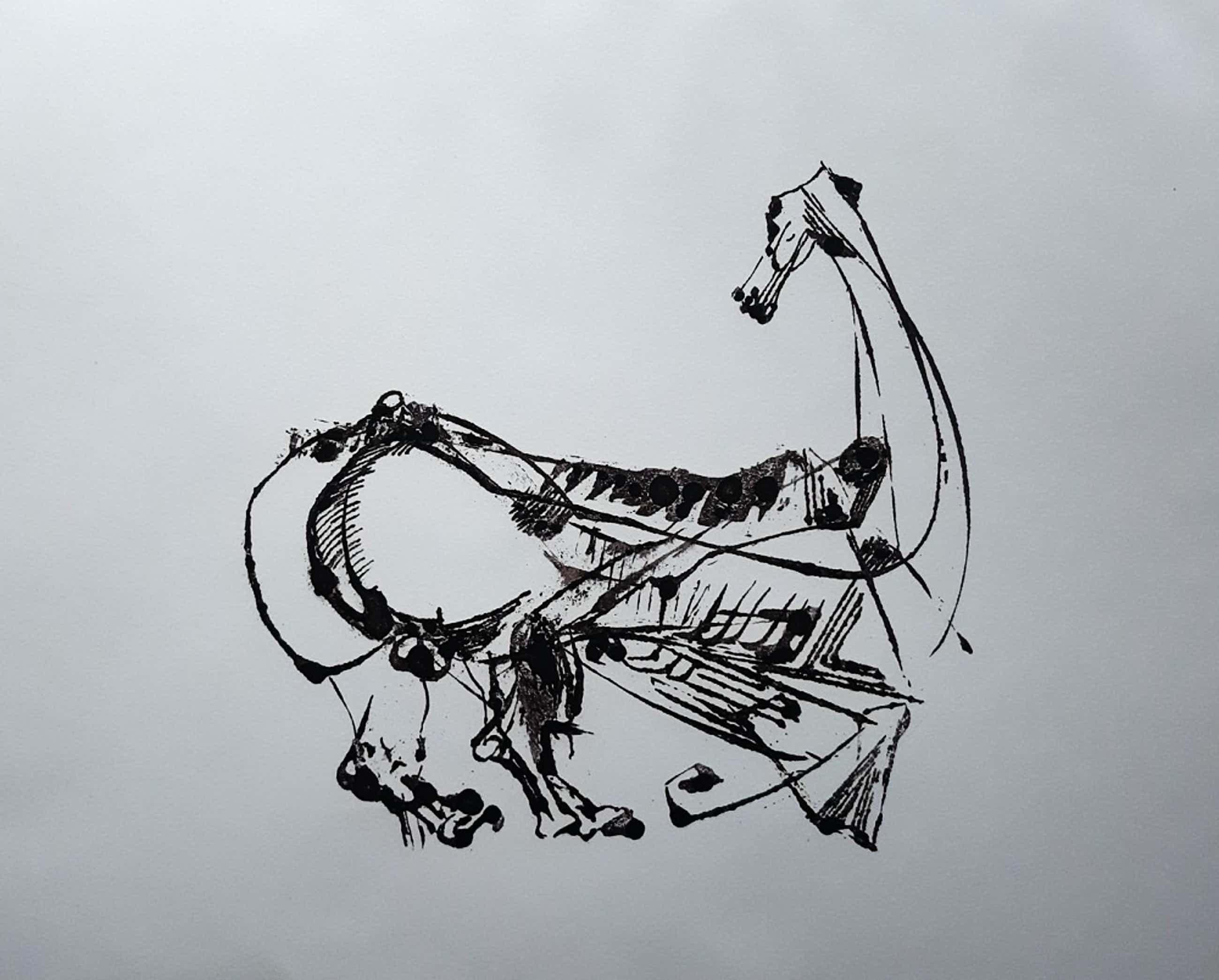 Arthur Spronken - Abstract paard kopen? Bied vanaf 100!
