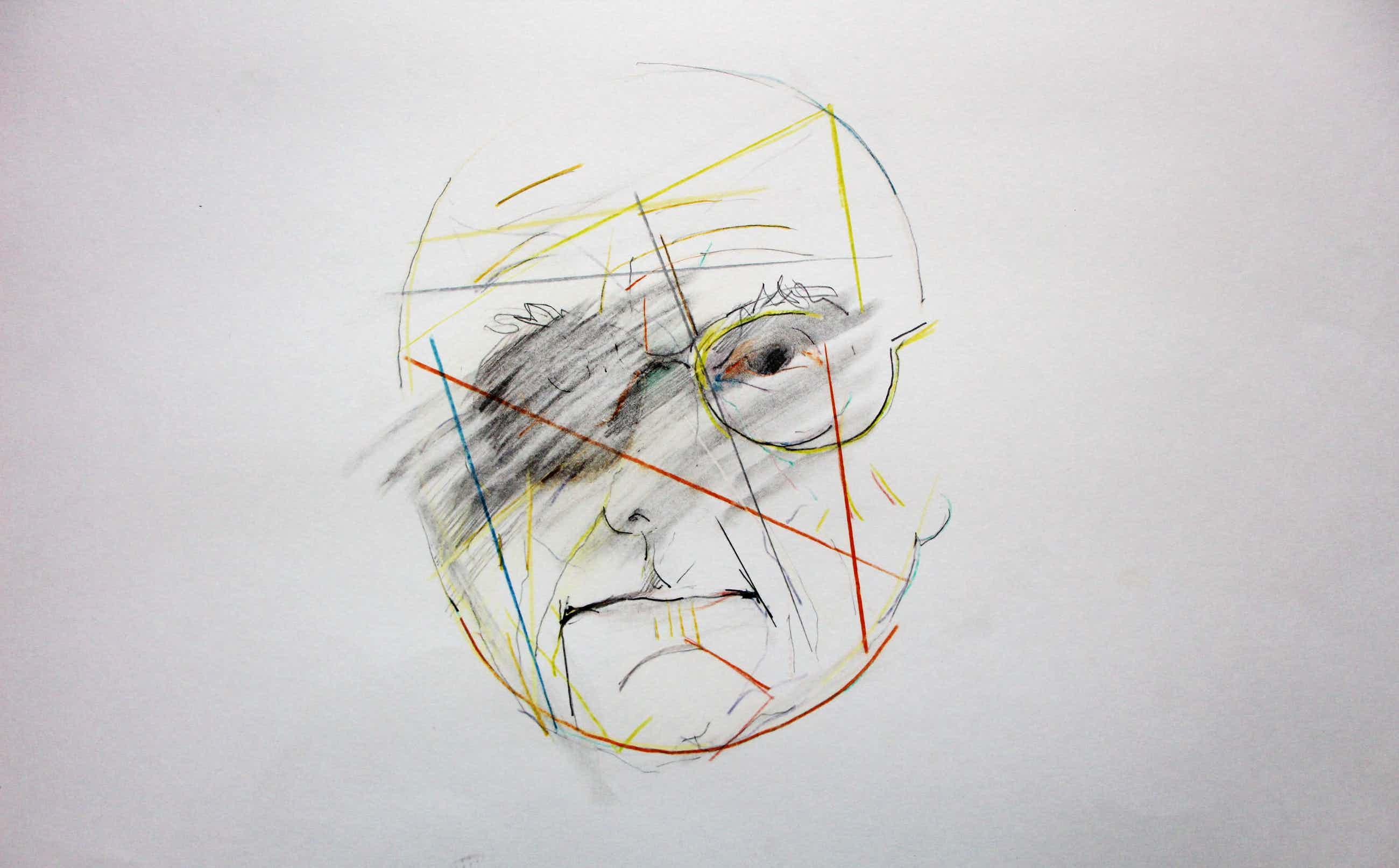 Pierre van Soest - potloodtekening: portret Bert Schierbeek kopen? Bied vanaf 129!