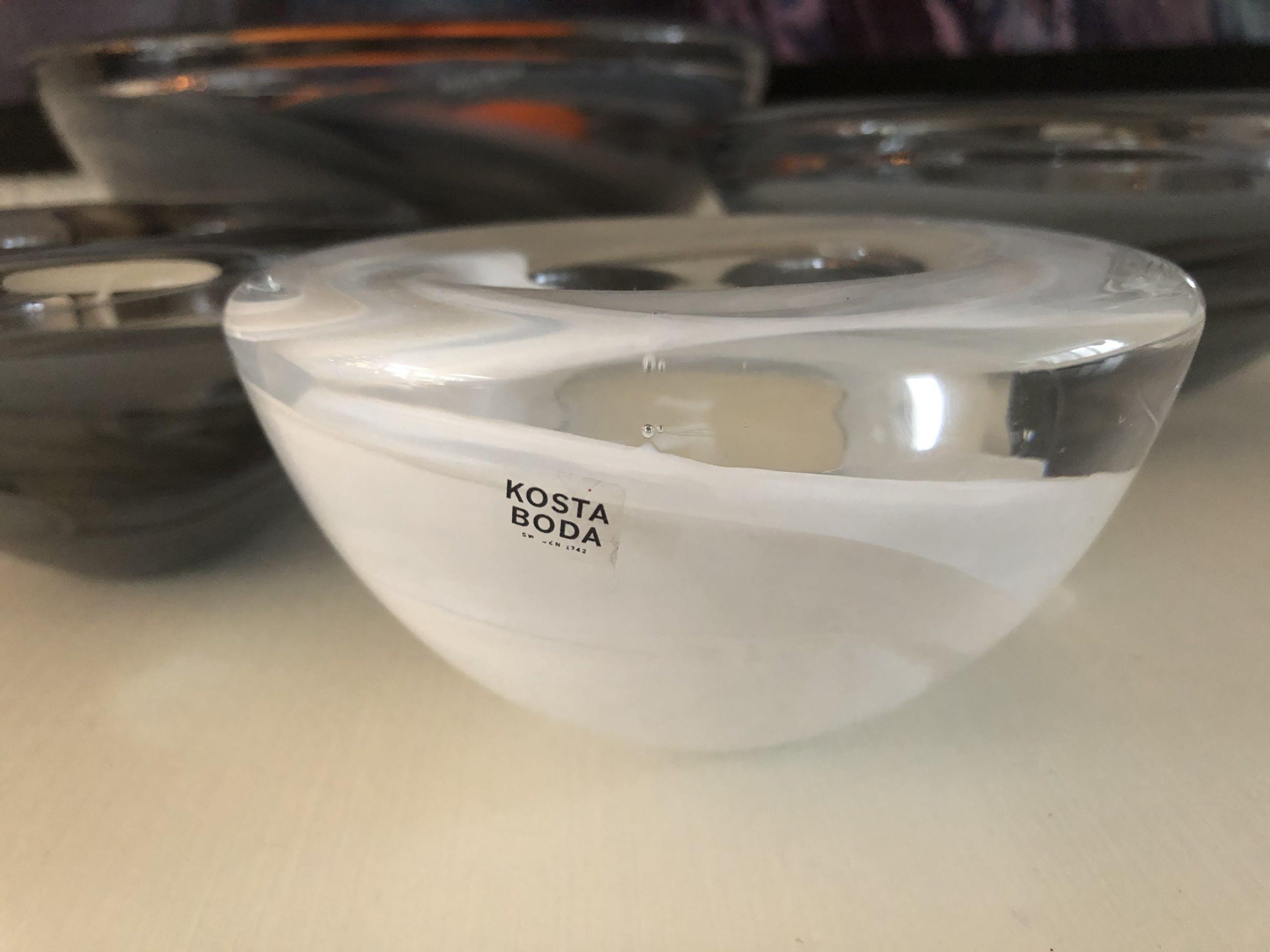 Kosta Boda - Atoll Votive grijs kopen? Bied vanaf 50!