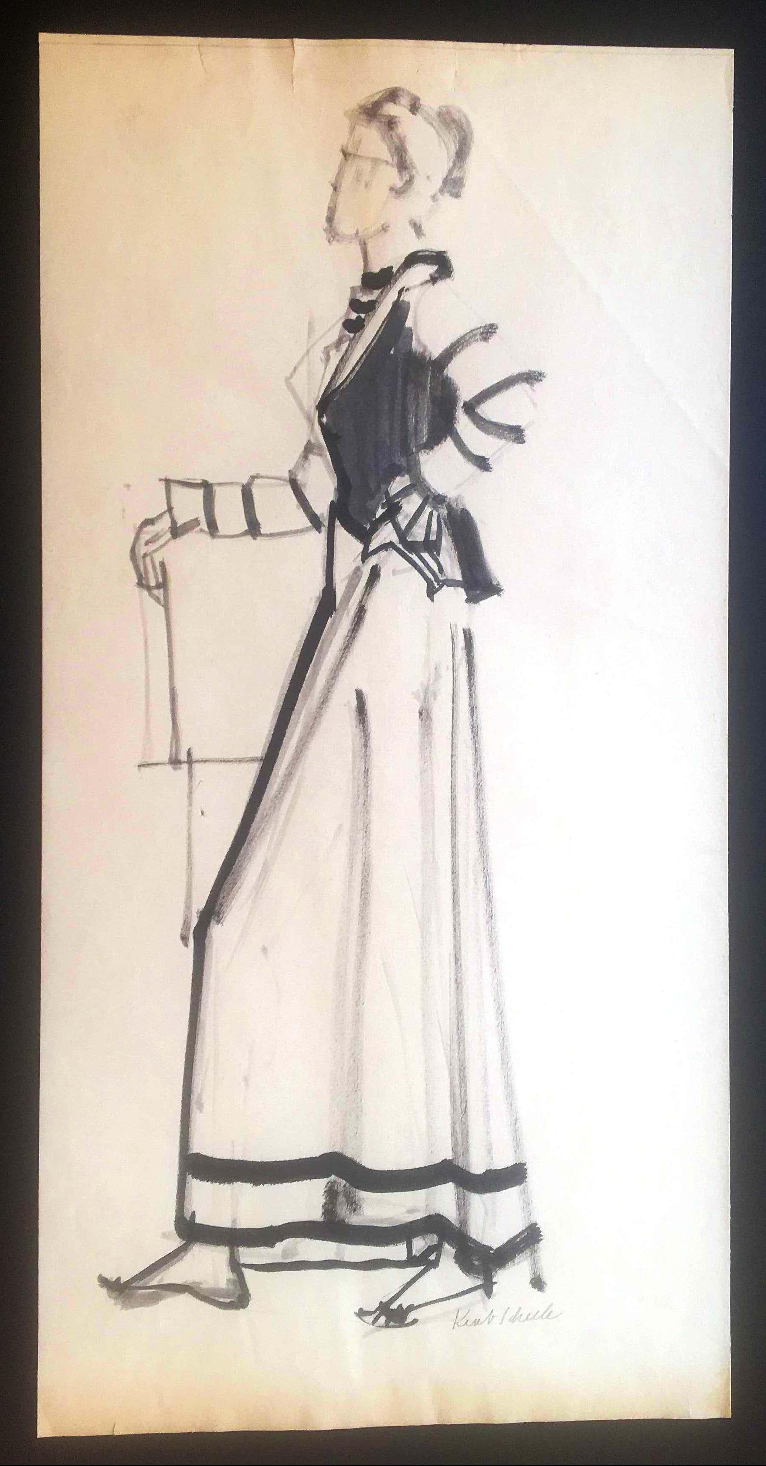 Kurt Scheele - das neue Kleid kopen? Bied vanaf 280!