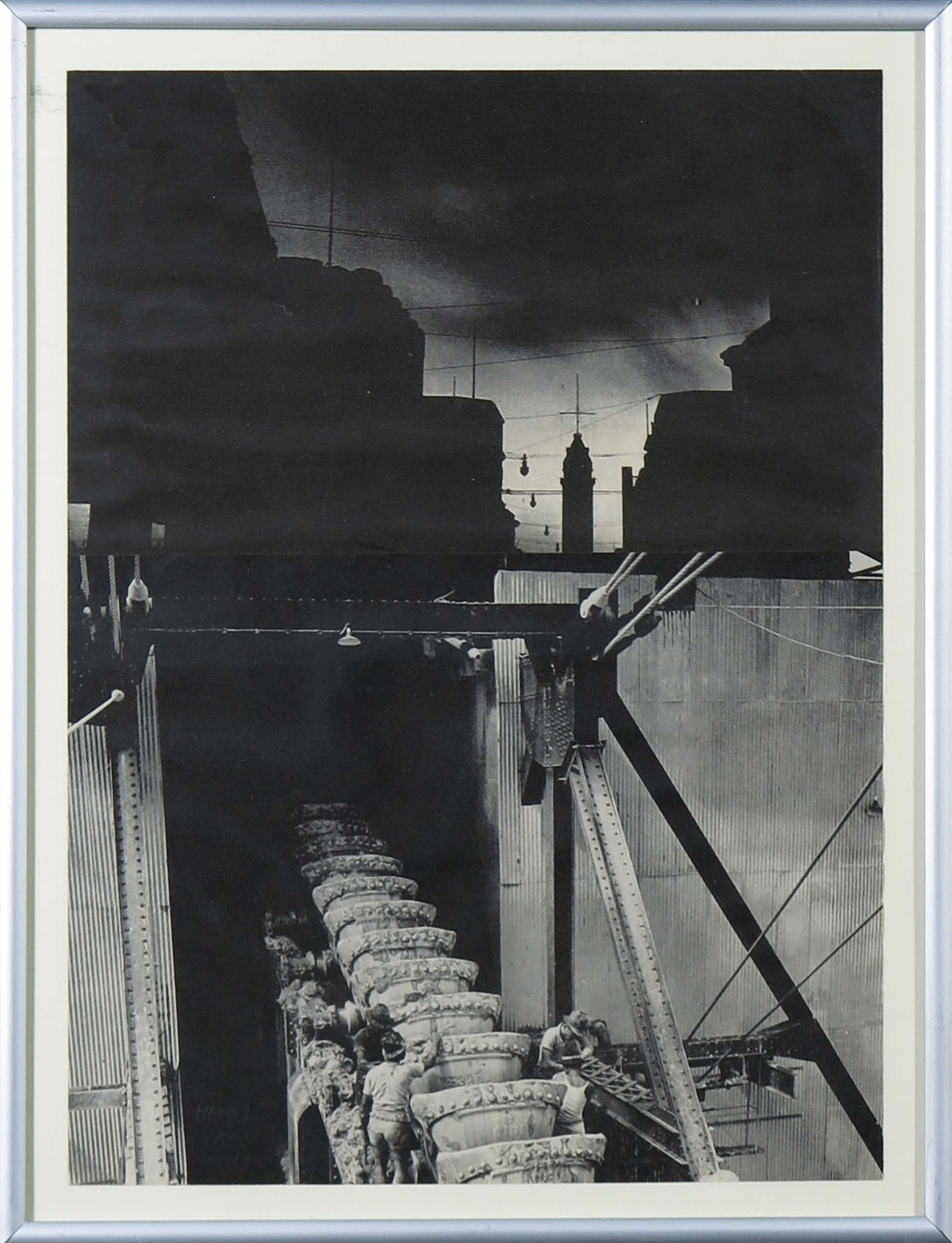 Henri Plaat - Collage, Zonder titel kopen? Bied vanaf 40!