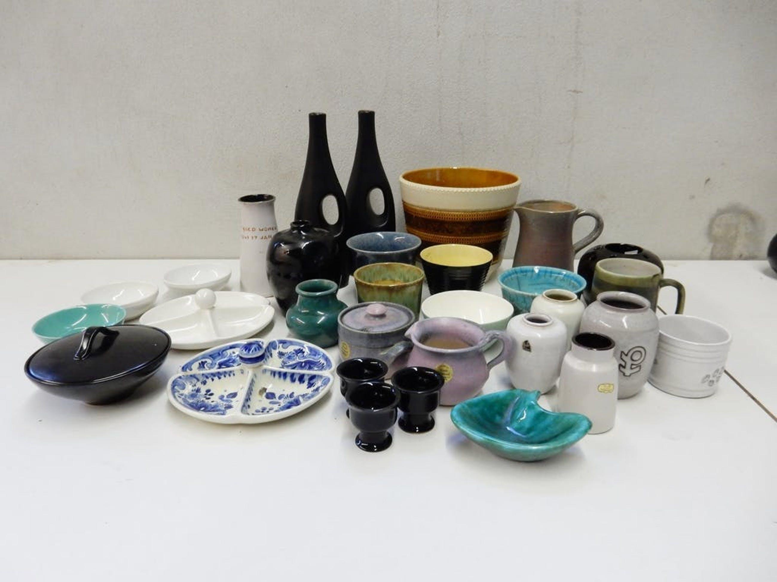 Verrassend Potterie Ravelli - Collectie puntgave keramiek: Jaap Ravelli e.a. YW-33