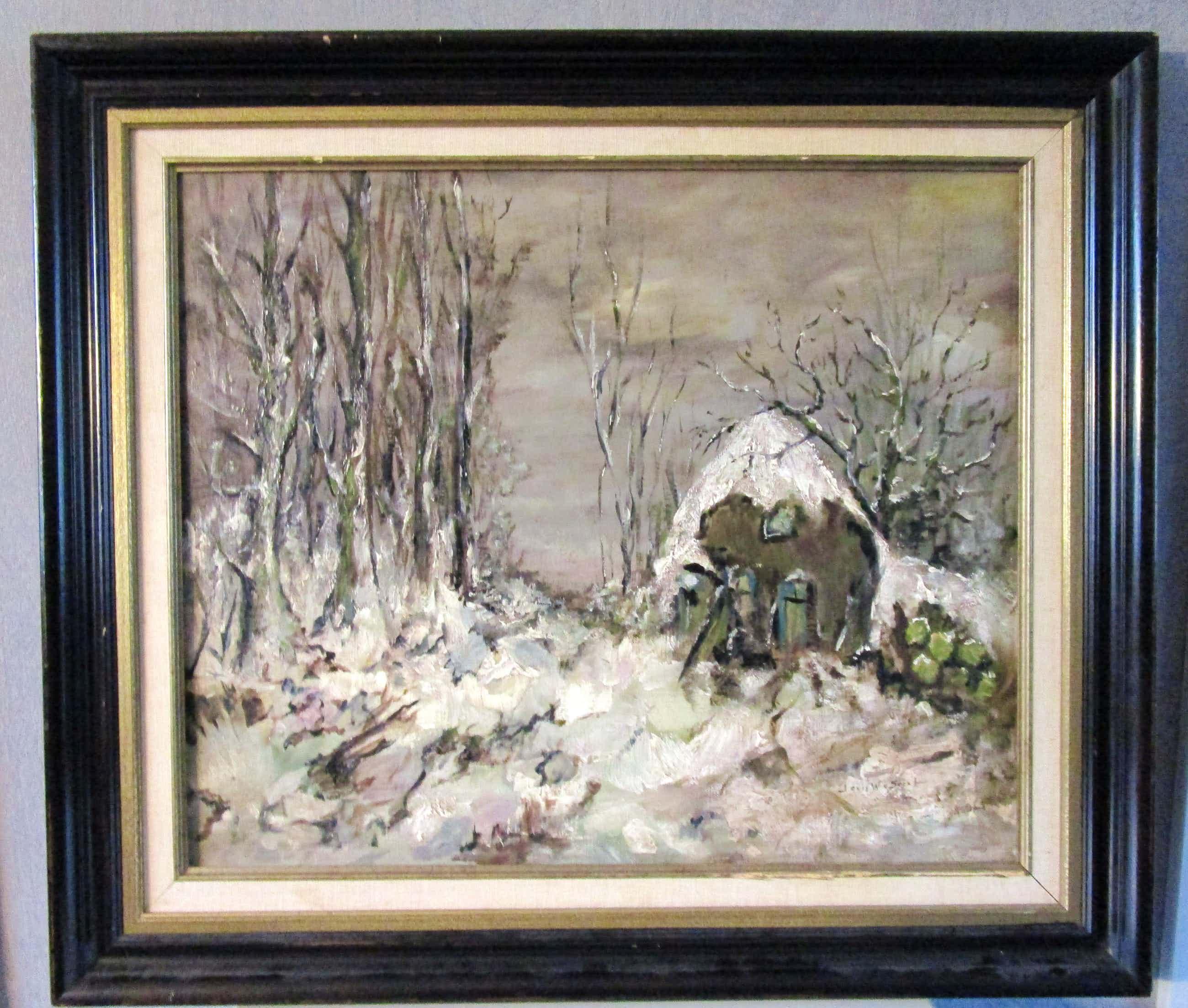 Louis Willem van Soest - Huisje in het bos. kopen? Bied vanaf 250!