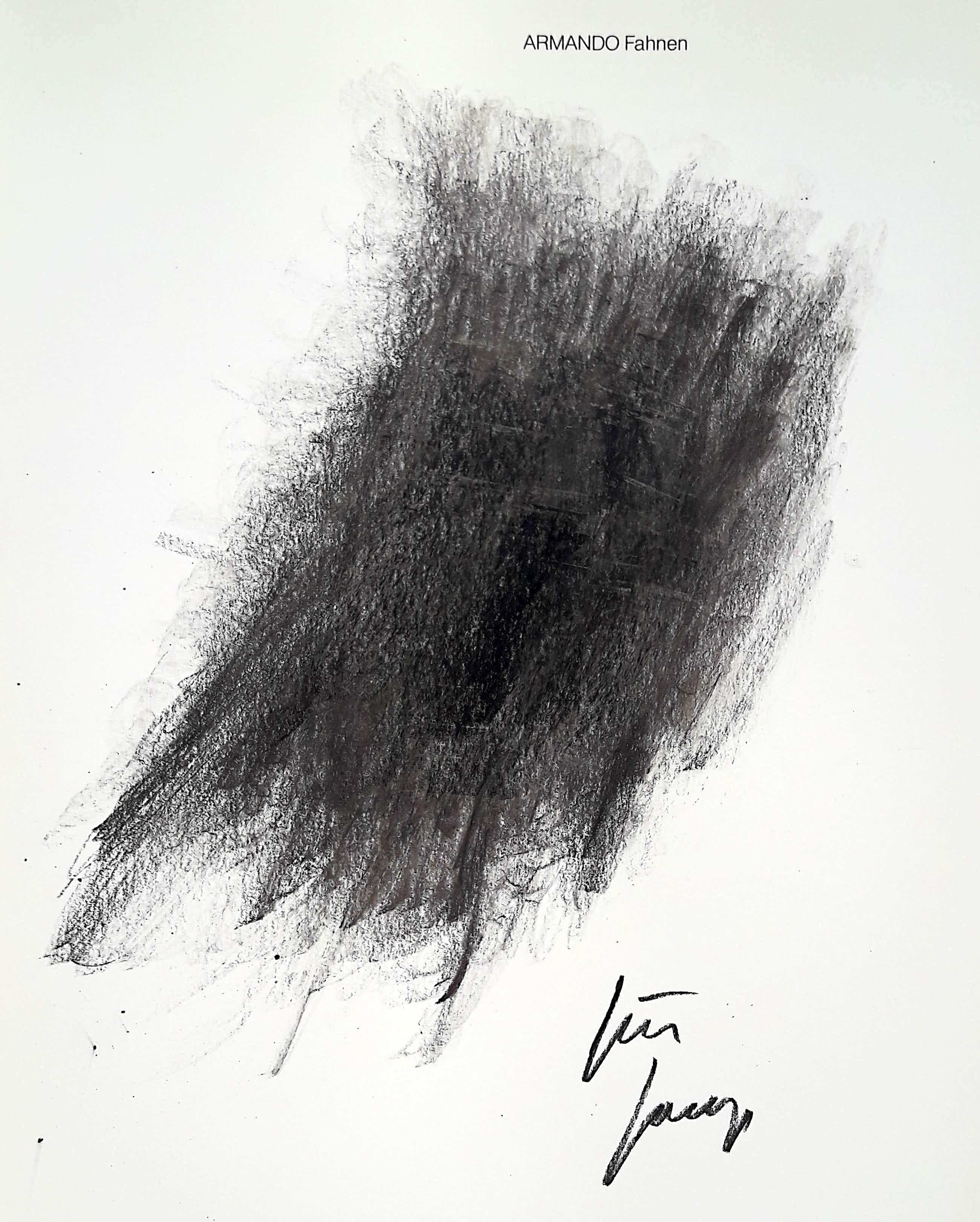 Armando - Fahnen (1984), publicatie met originele tekening kopen? Bied vanaf 195!