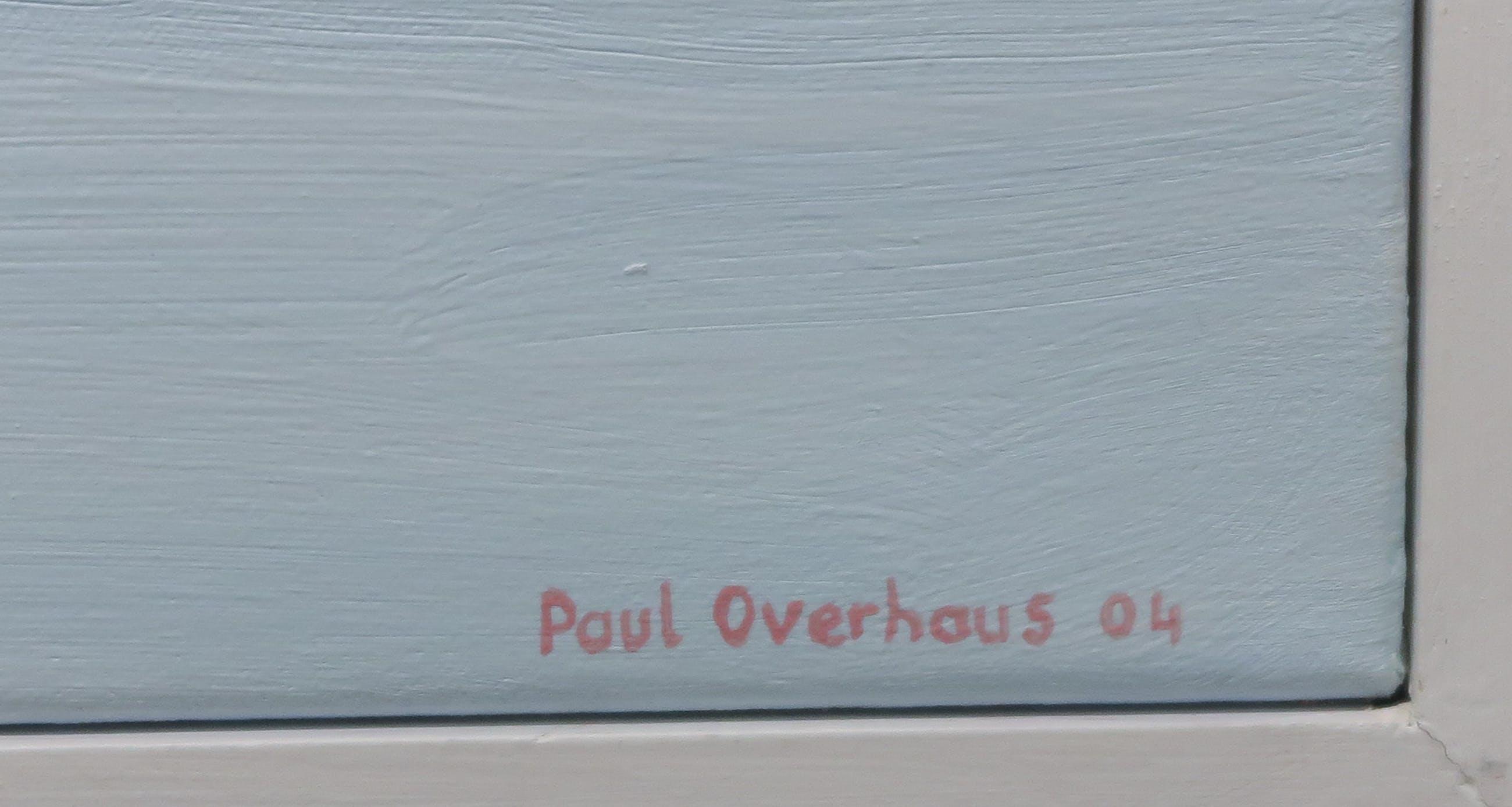 Paul Overhaus - Olieverf op doek, Aan de kust - Ingelijst (Zeer Groot) kopen? Bied vanaf 1!