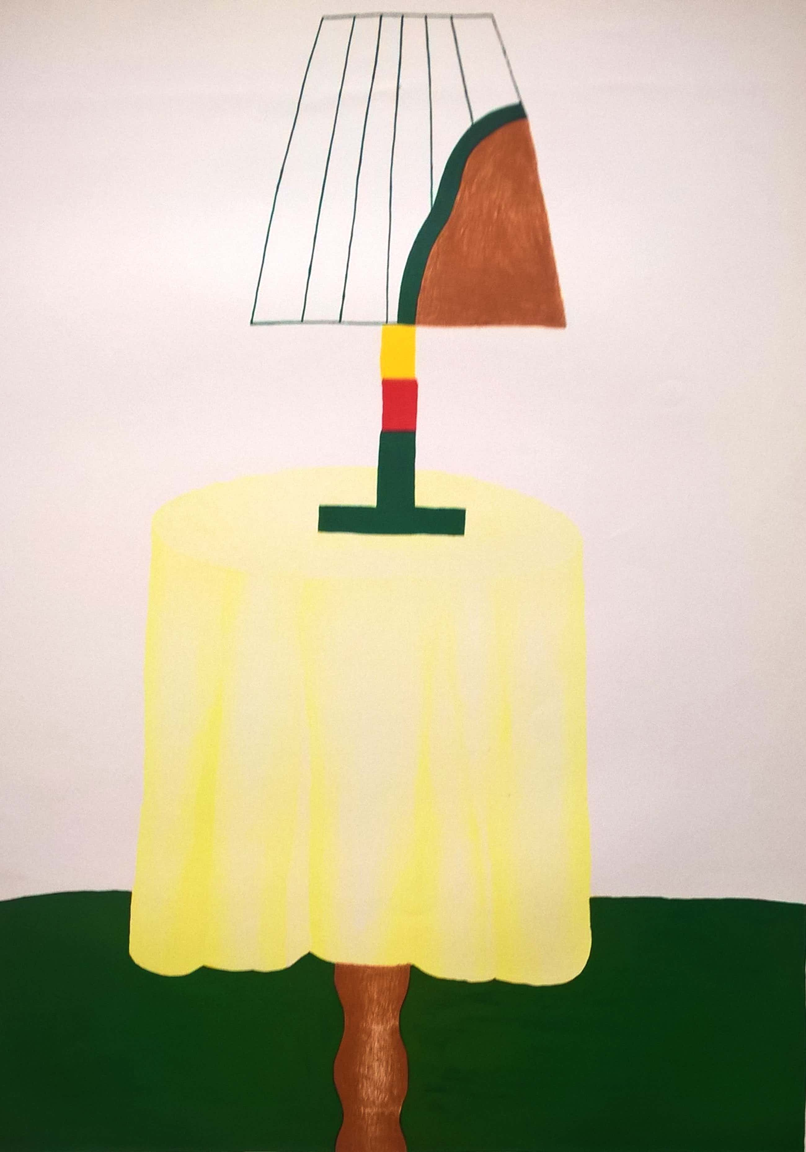 Reinier Lucassen - – lamp - gesigneerde litho kopen? Bied vanaf 50!