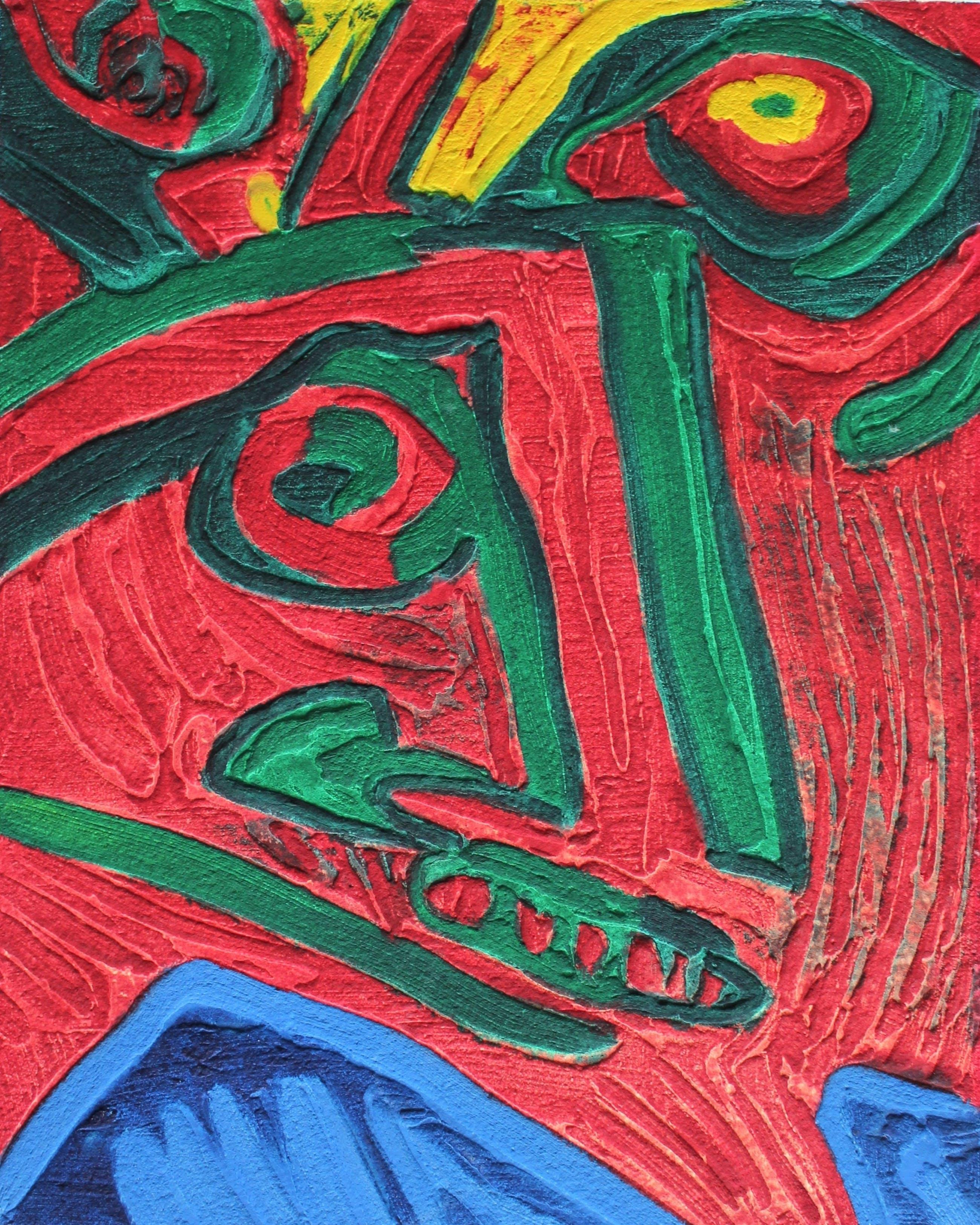 Bengt Lindstrom - Dierlijke figuren in abstractie kopen? Bied vanaf 275!