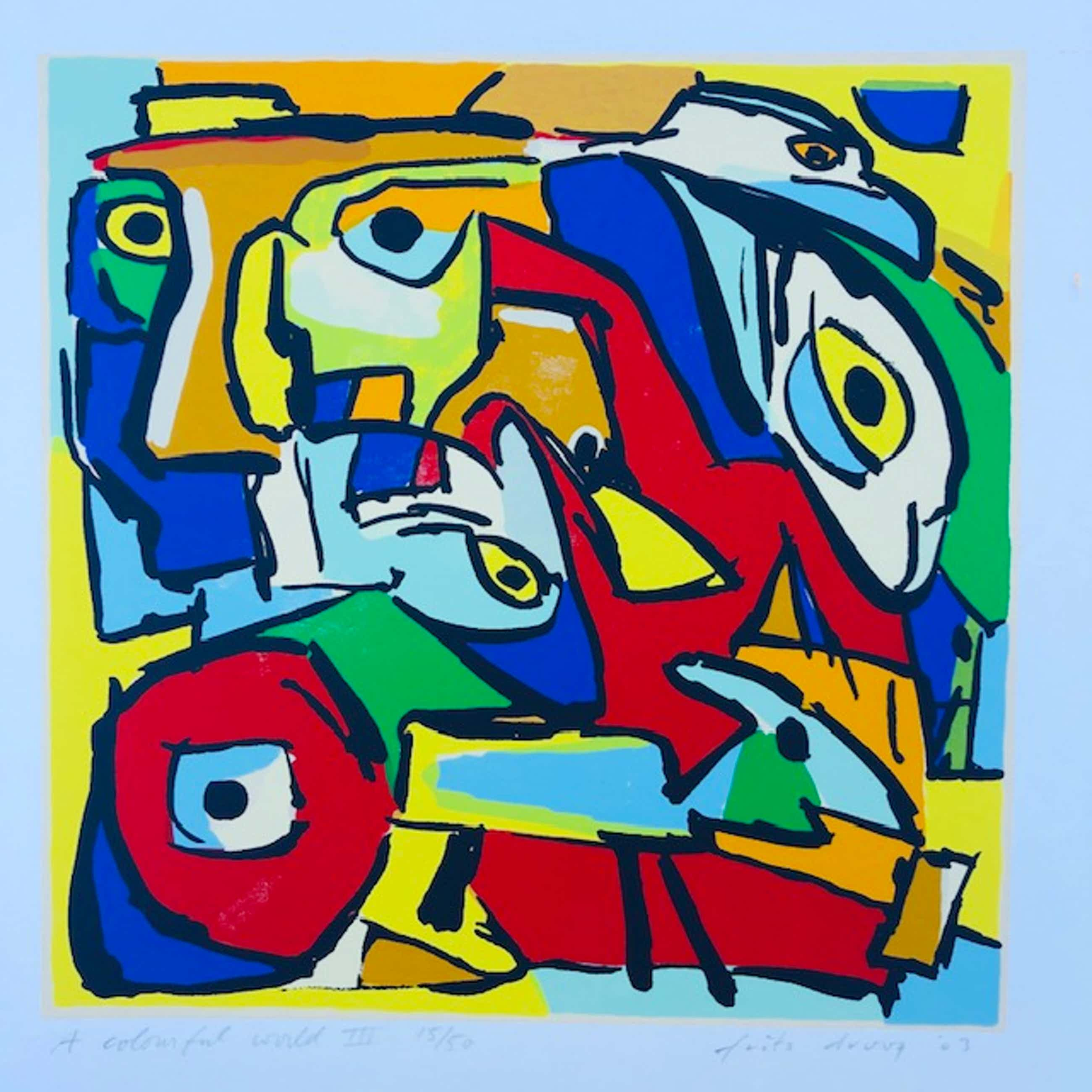 Frits Droog - A colorfull world III kopen? Bied vanaf 65!