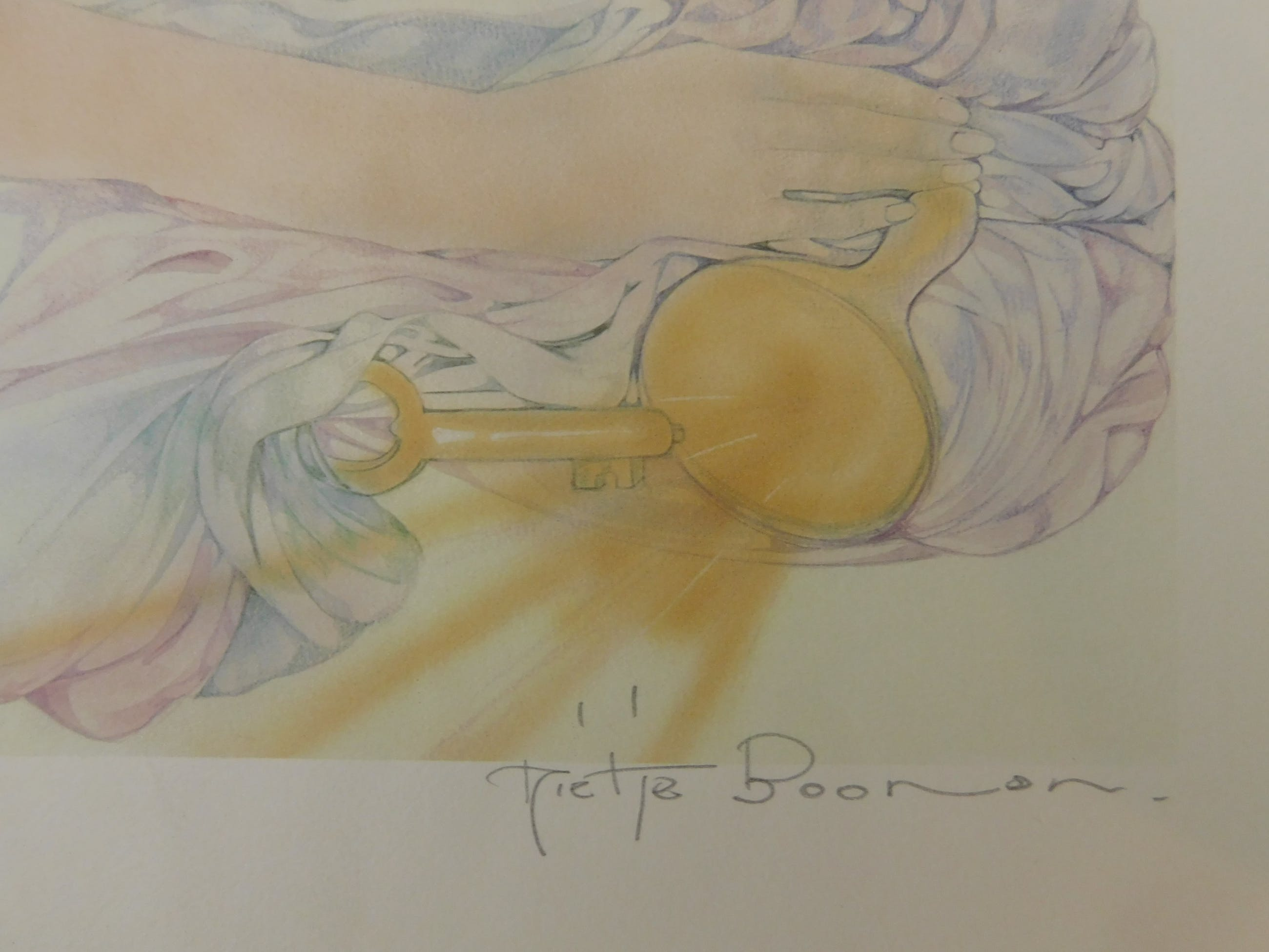 Mietje Boonen - La Femme Radieuse avec la Clé kopen? Bied vanaf 10!