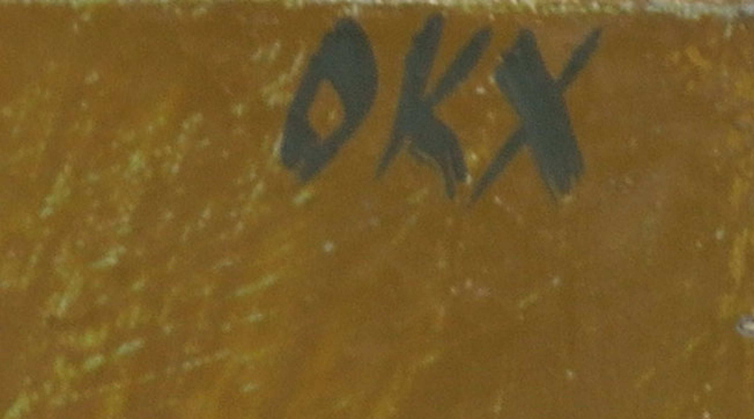 Kees Okx - Olieverf op doek, Abstract landschap - Ingelijst kopen? Bied vanaf 150!