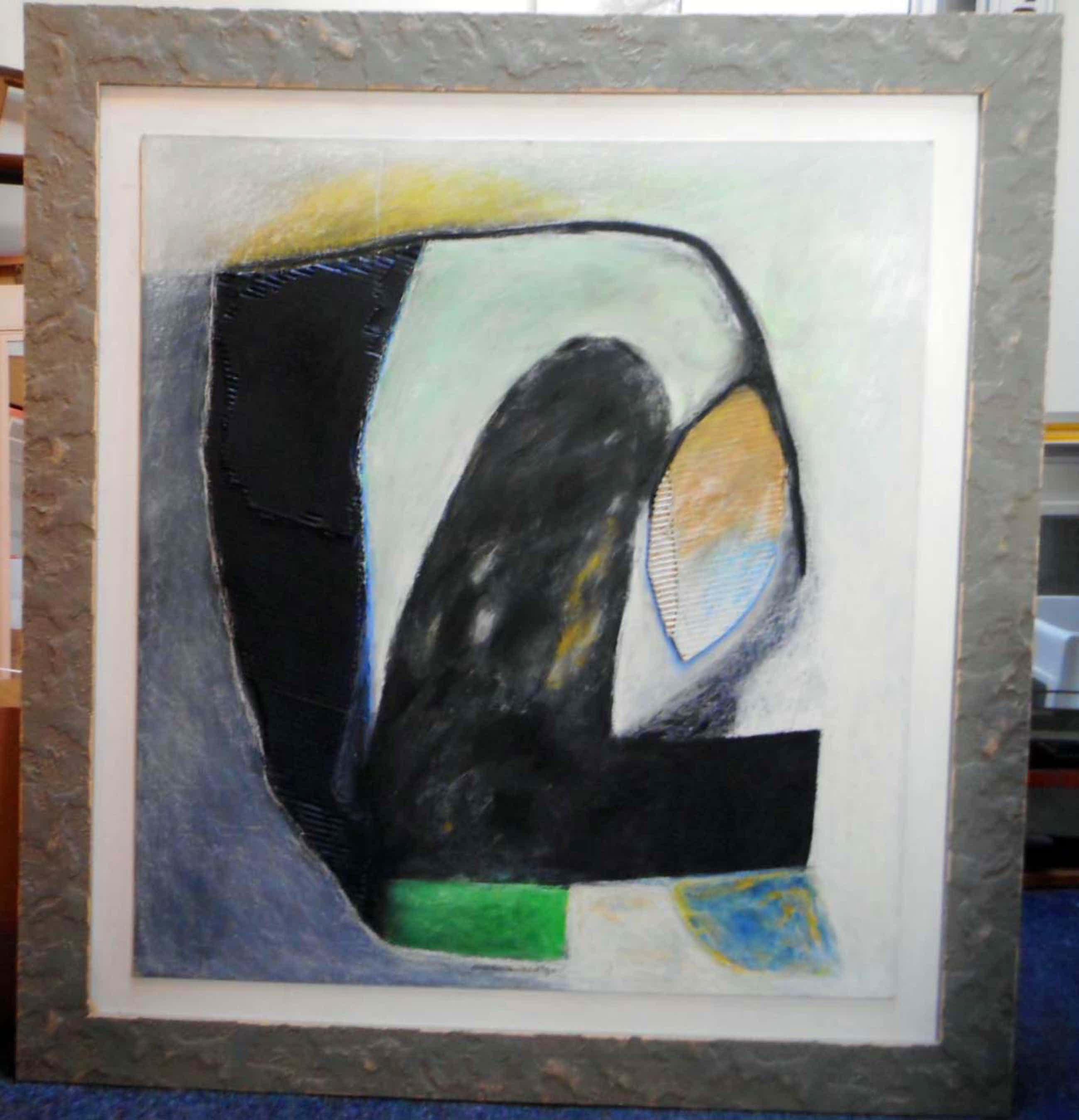Doris Groeneveld - zwart zeegroen - groengrijs VORMEN. kopen? Bied vanaf 275!