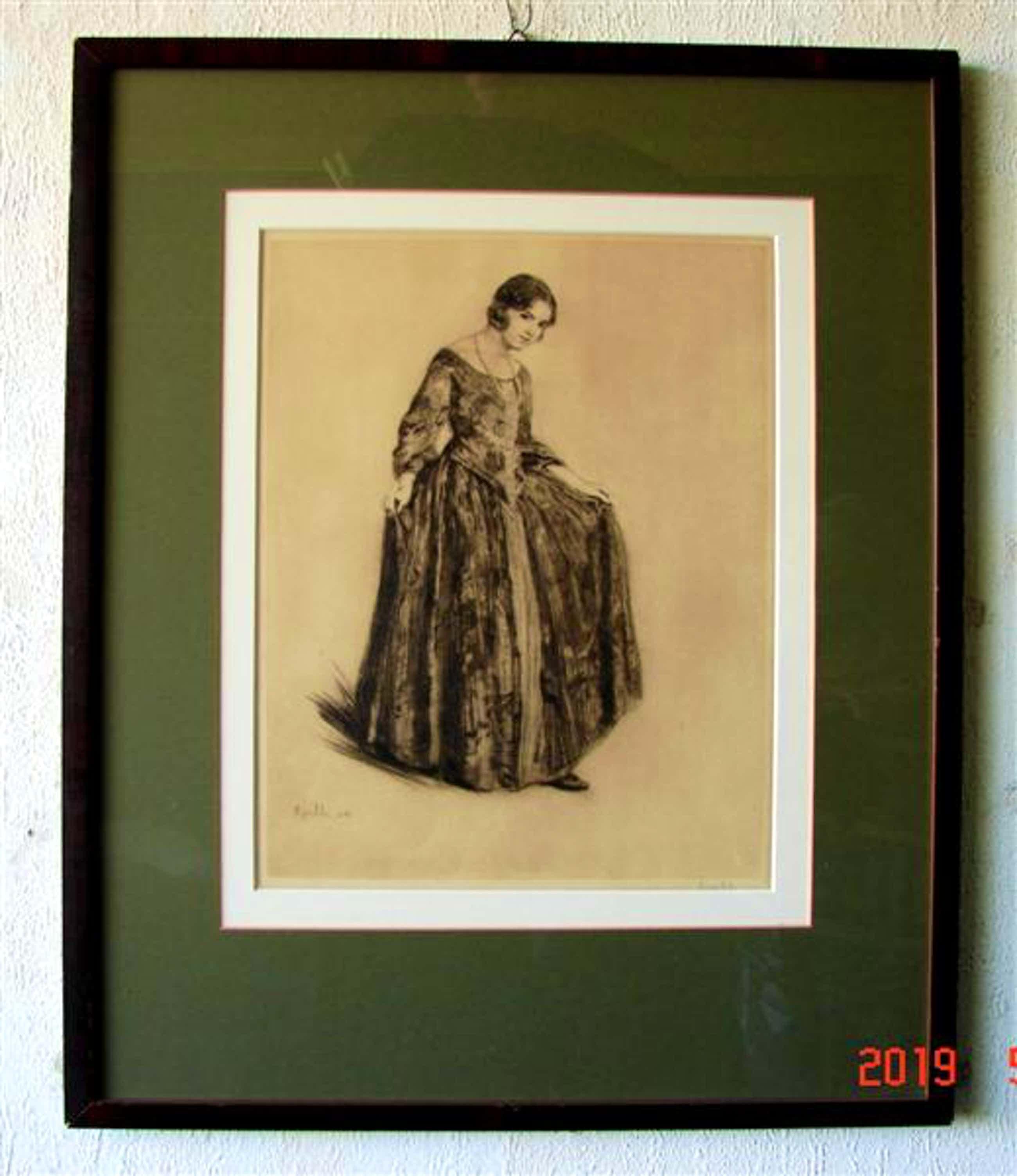 Heinrich Martin Krabbe - portret kopen? Bied vanaf 50!