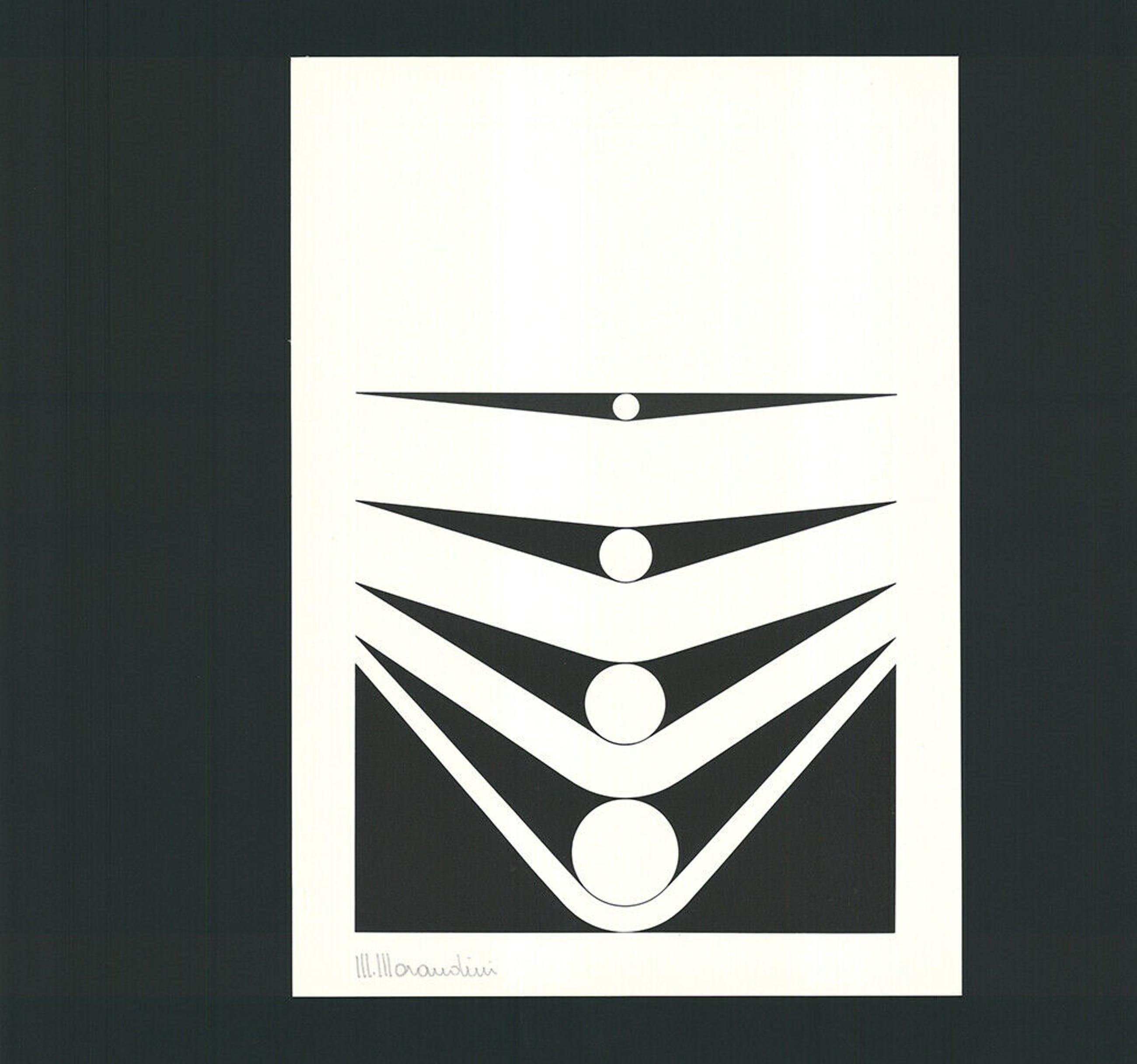 Marcello Morandini - compositie , zeefdruk , 1977 , oplage 230 kopen? Bied vanaf 110!
