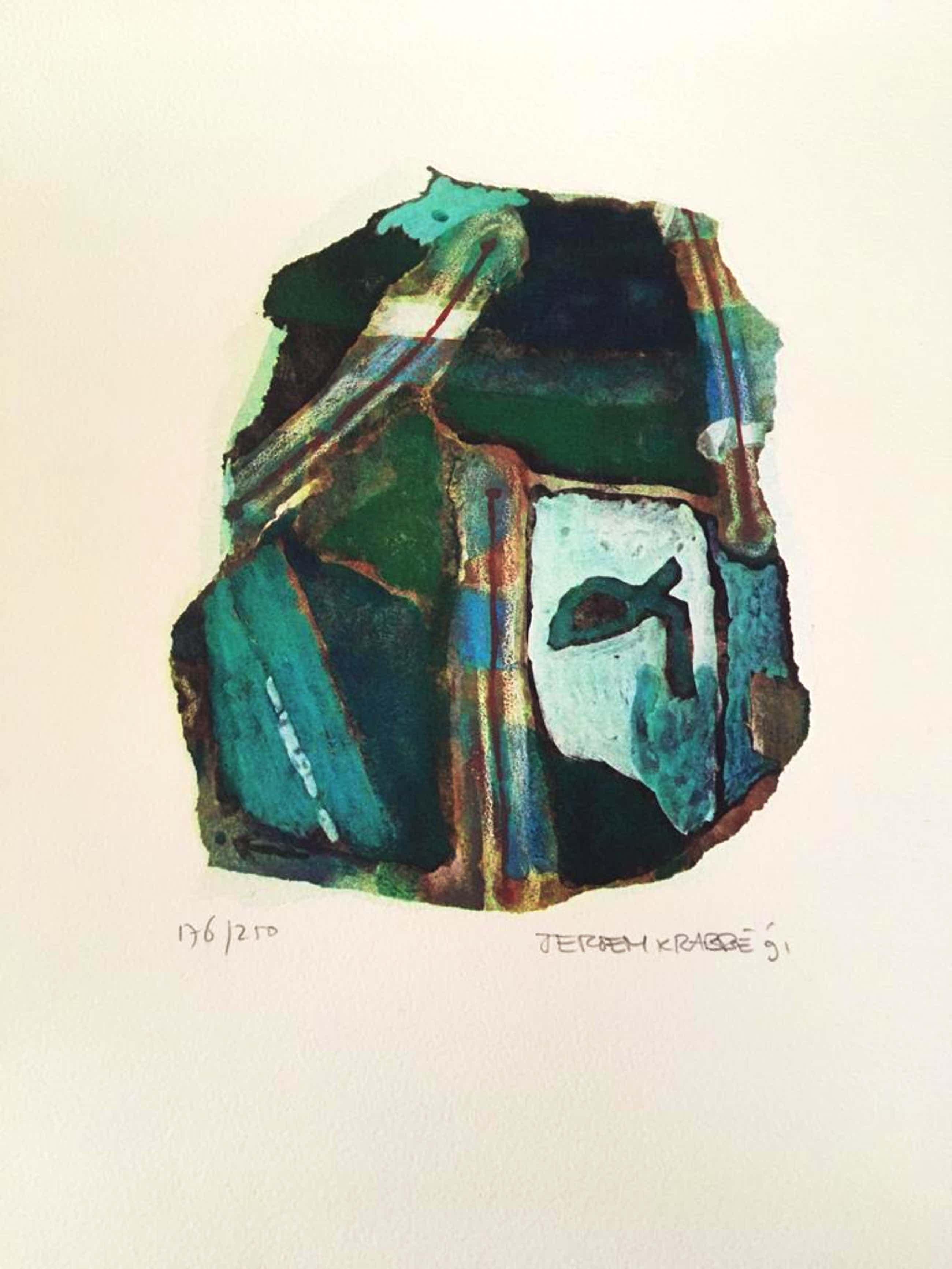 Jeroen Krabbé - 4 kleurenlitho's (nummer: 176/250) kopen? Bied vanaf 299!