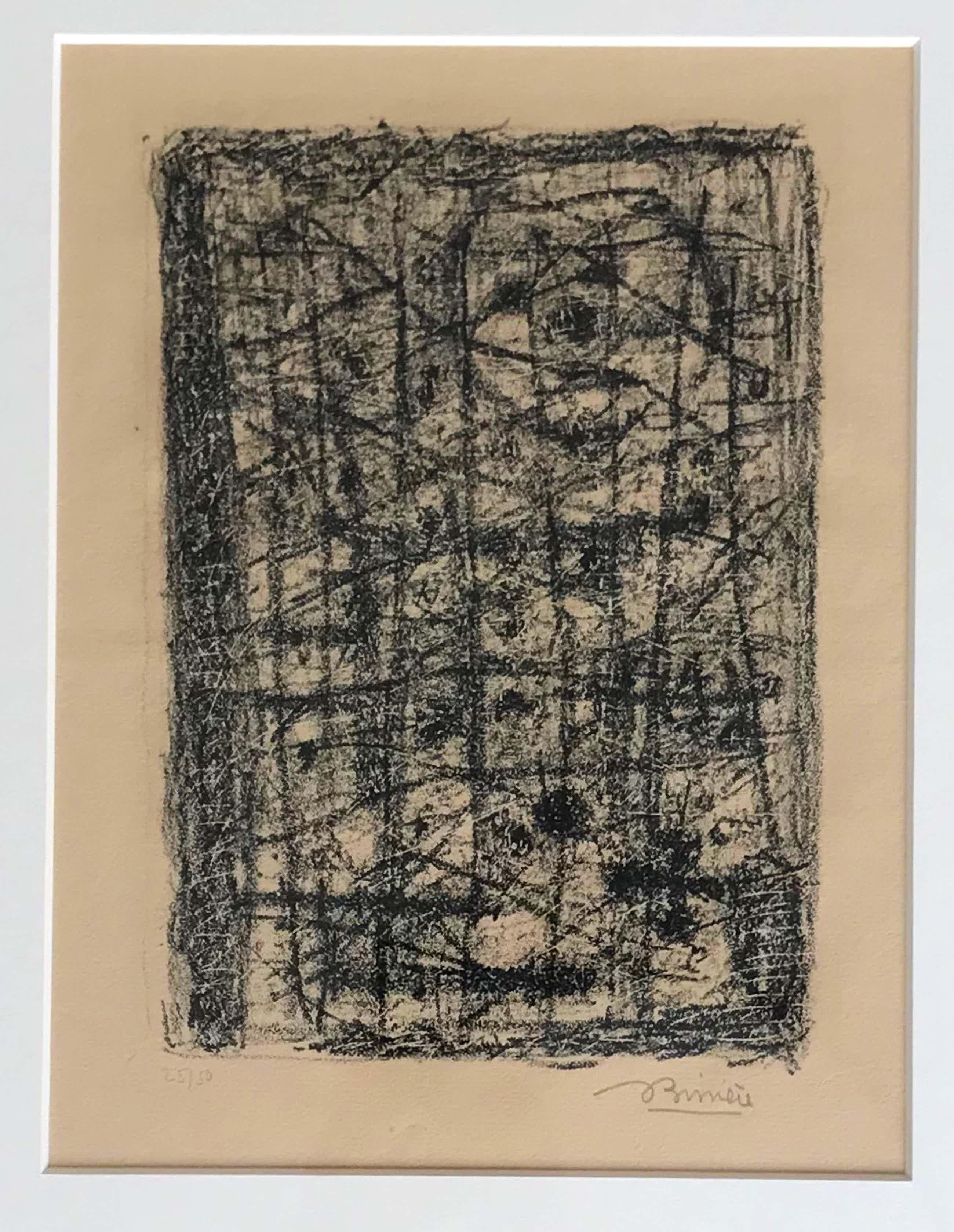 Roger Bissiere - Prachtige originele, gesigneerde litho uit 1953 - 25/50 kopen? Bied vanaf 195!