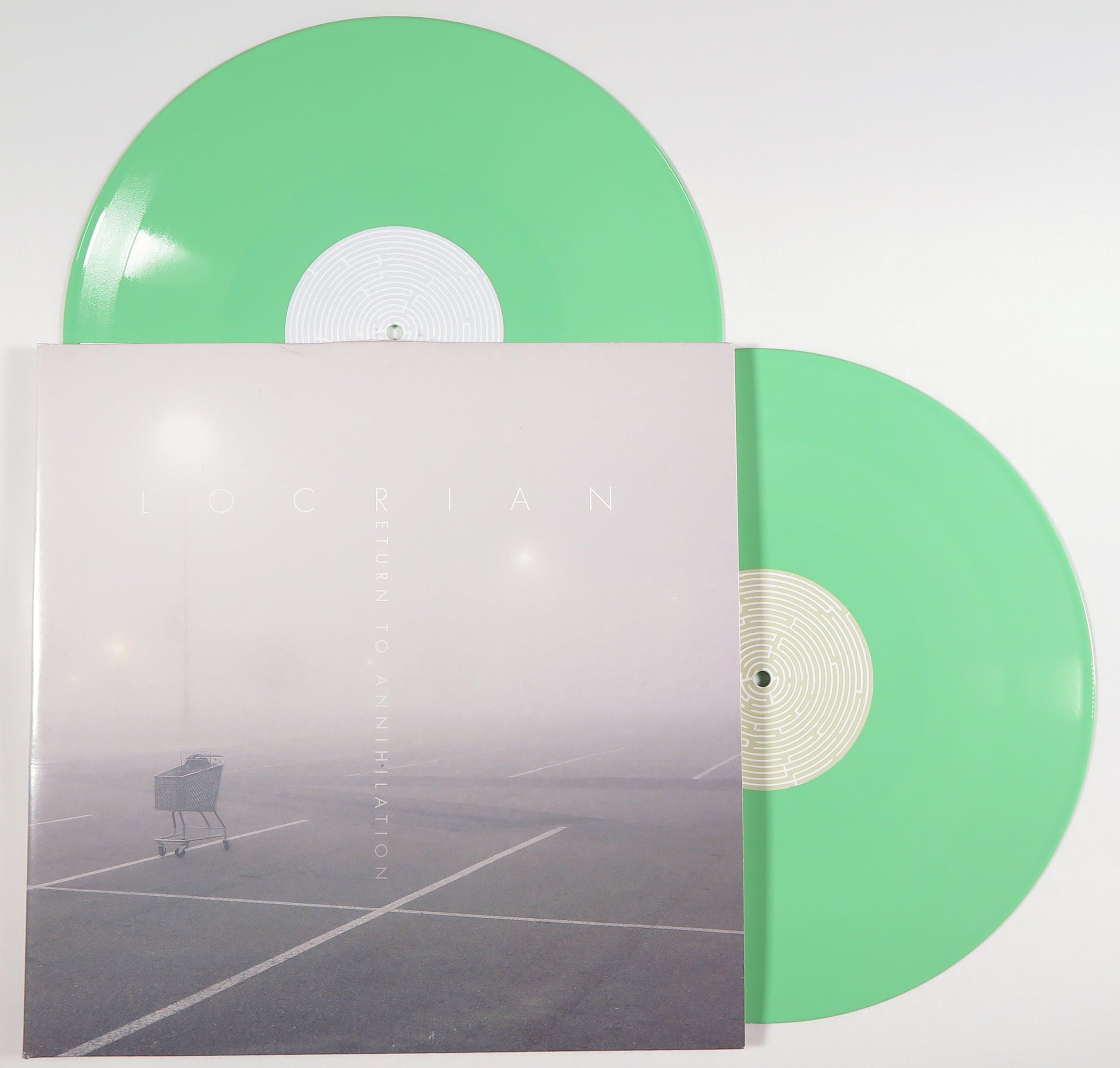 Locrian - Return to Annihilation (Dubbele 12 Inch maxi) Groen Vinyl kopen? Bied vanaf 10!