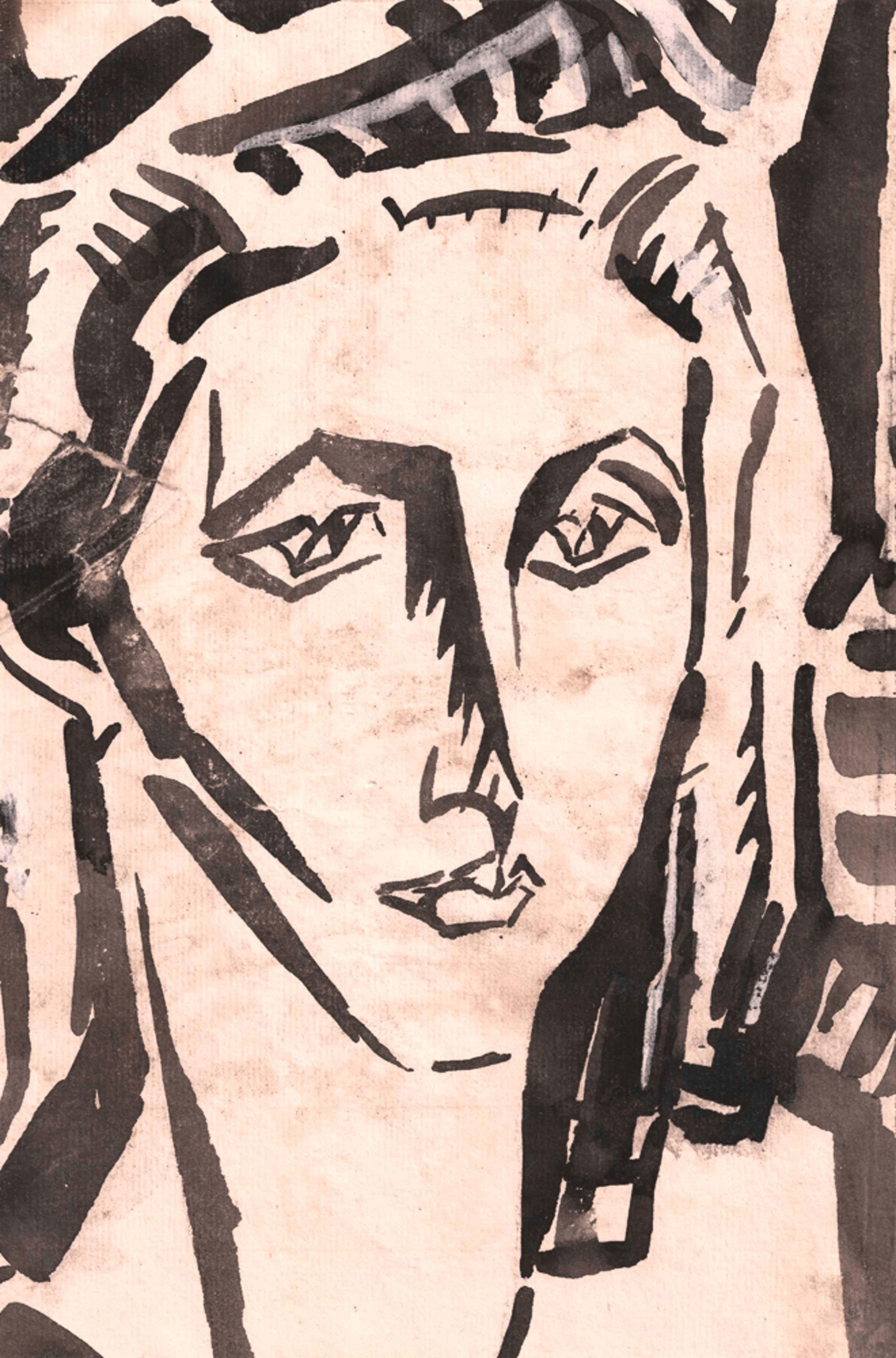 Leo Gestel - Portret van een vrouw kopen? Bied vanaf 125!