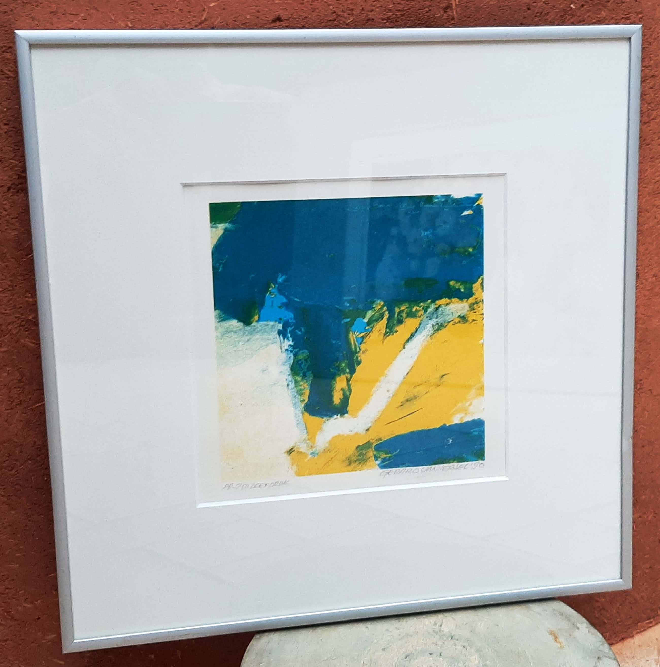 Gerard van Iersel - Zeefdruk: 'Abstract' kopen? Bied vanaf 15!
