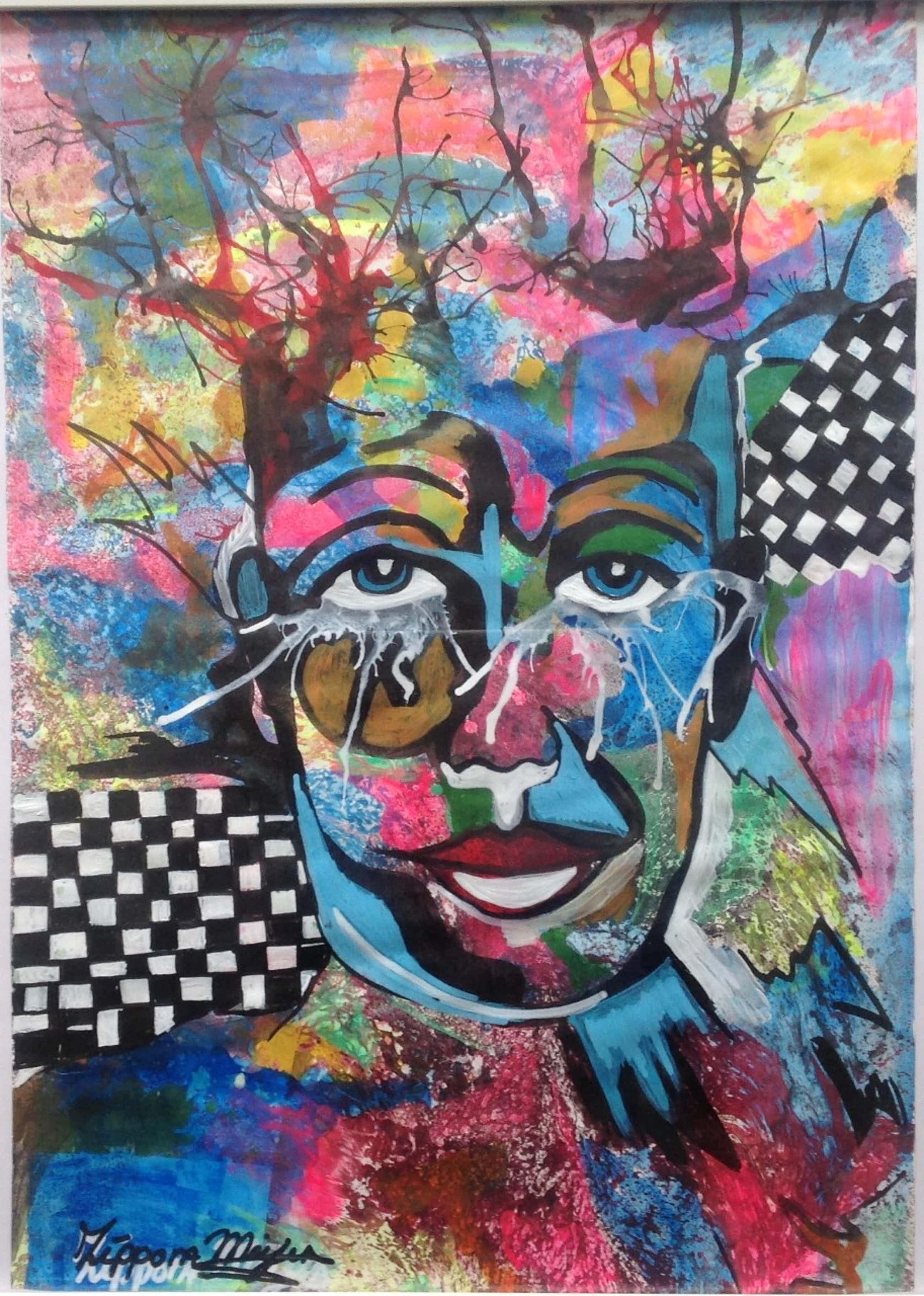 Zippora Sahanaja - Colourful Clown kopen? Bied vanaf 45!