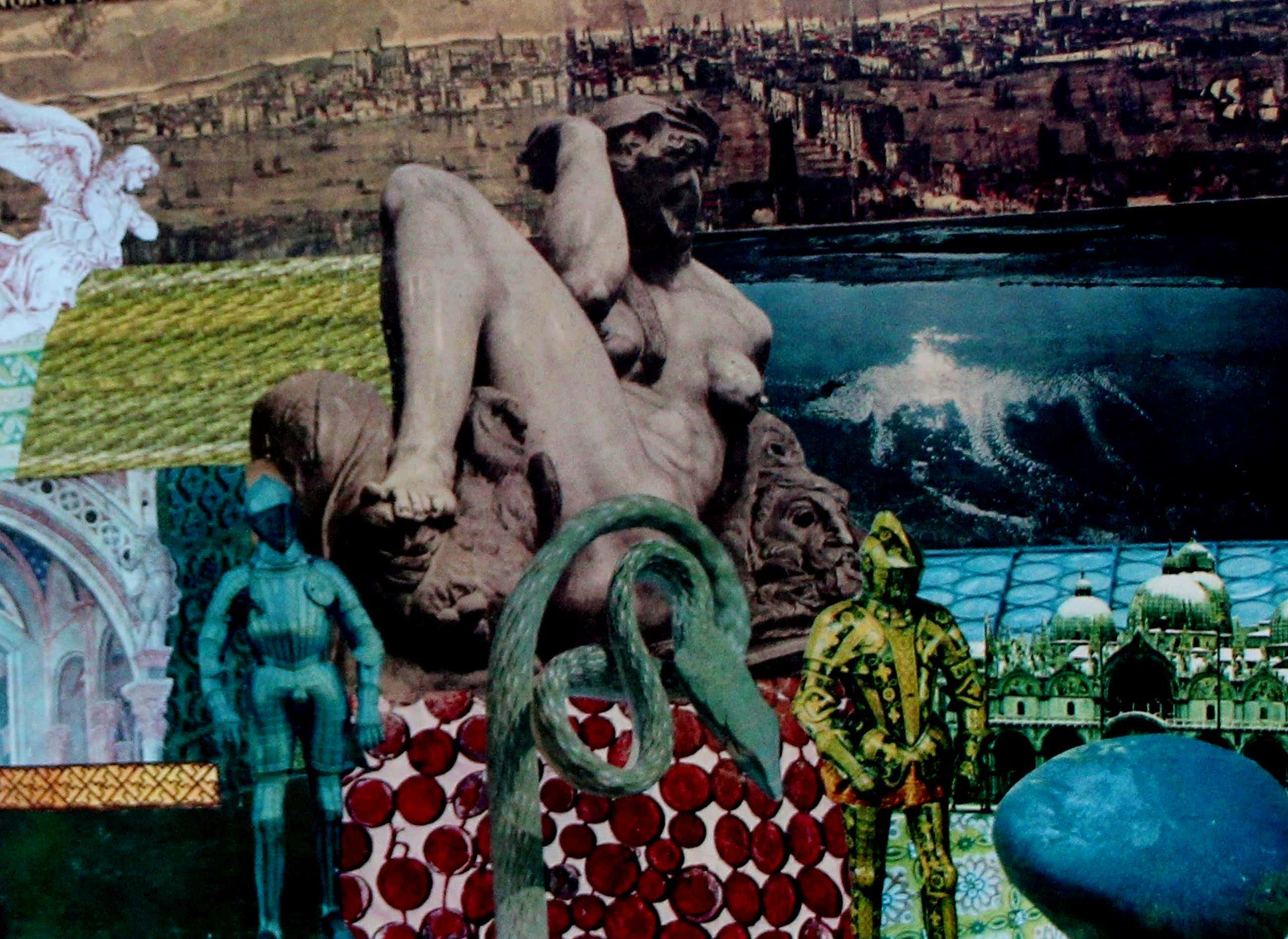 Hans Rietveld - collage: NNA Bolina de slang kopen? Bied vanaf 35!