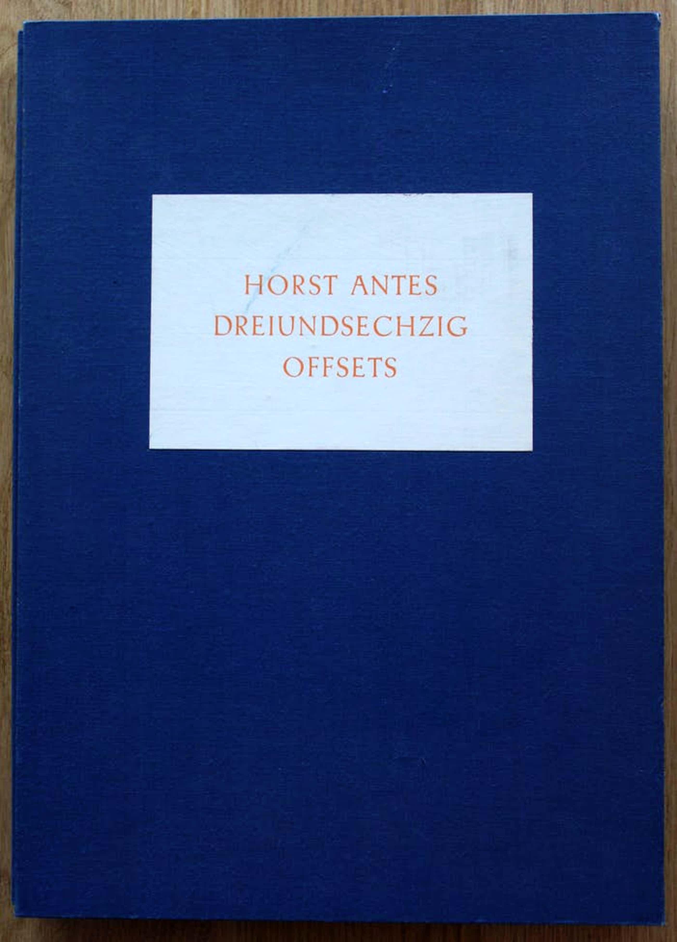 Horst Antes - Map met 63 litho's - 1965 kopen? Bied vanaf 1250!