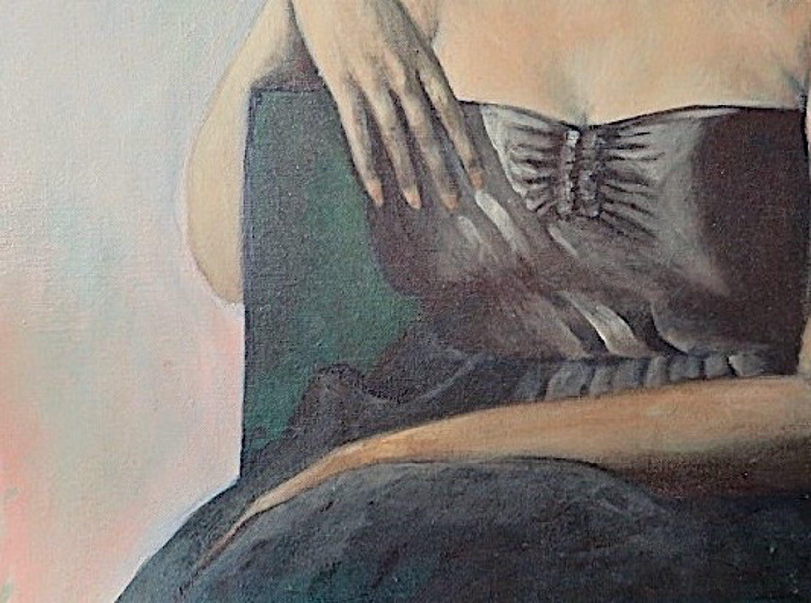 """Niet of onleesbaar gesigneerd - """"Wicked Woman"""" - Italiaans/Venetiaanse school - Gesigneerd - Groot kopen? Bied vanaf 1!"""