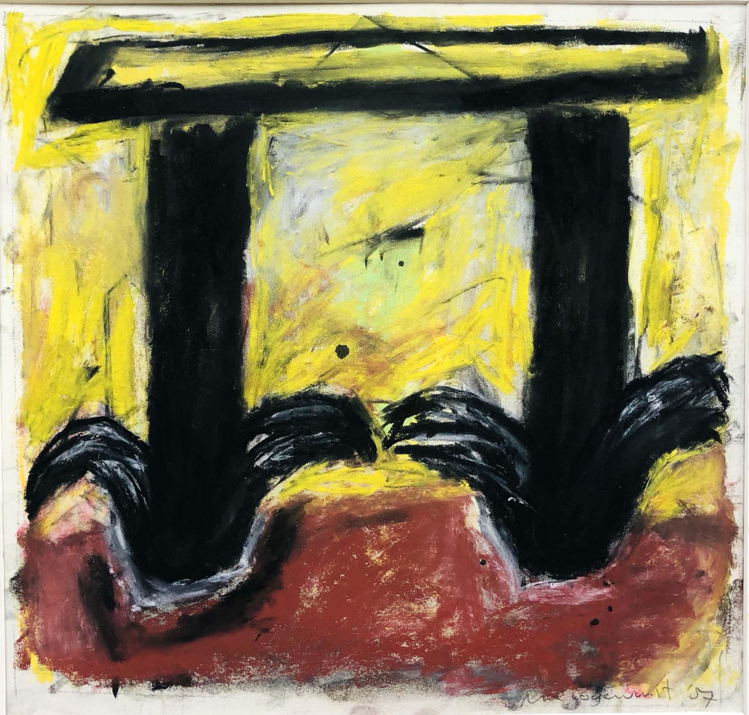 Michel Hoogervorst - abstracte compositie II kopen? Bied vanaf 95!