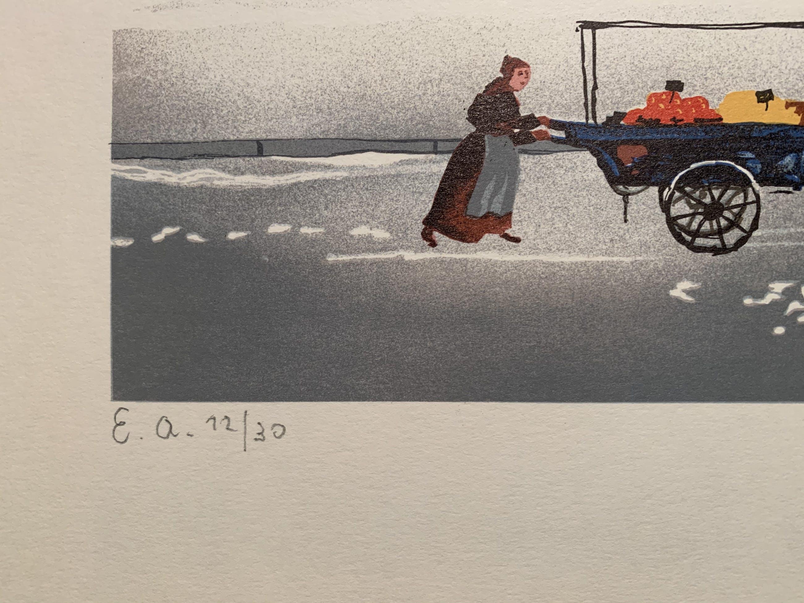 Michel Delacroix - La Neige sur la Seine kopen? Bied vanaf 45!