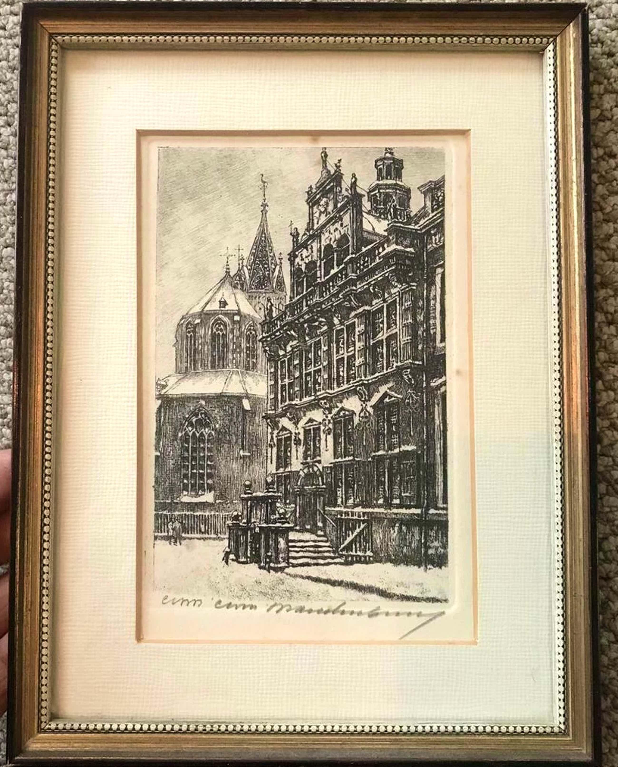Cornelis Brandenburg - Den Haag - Stadhuis kopen? Bied vanaf 70!