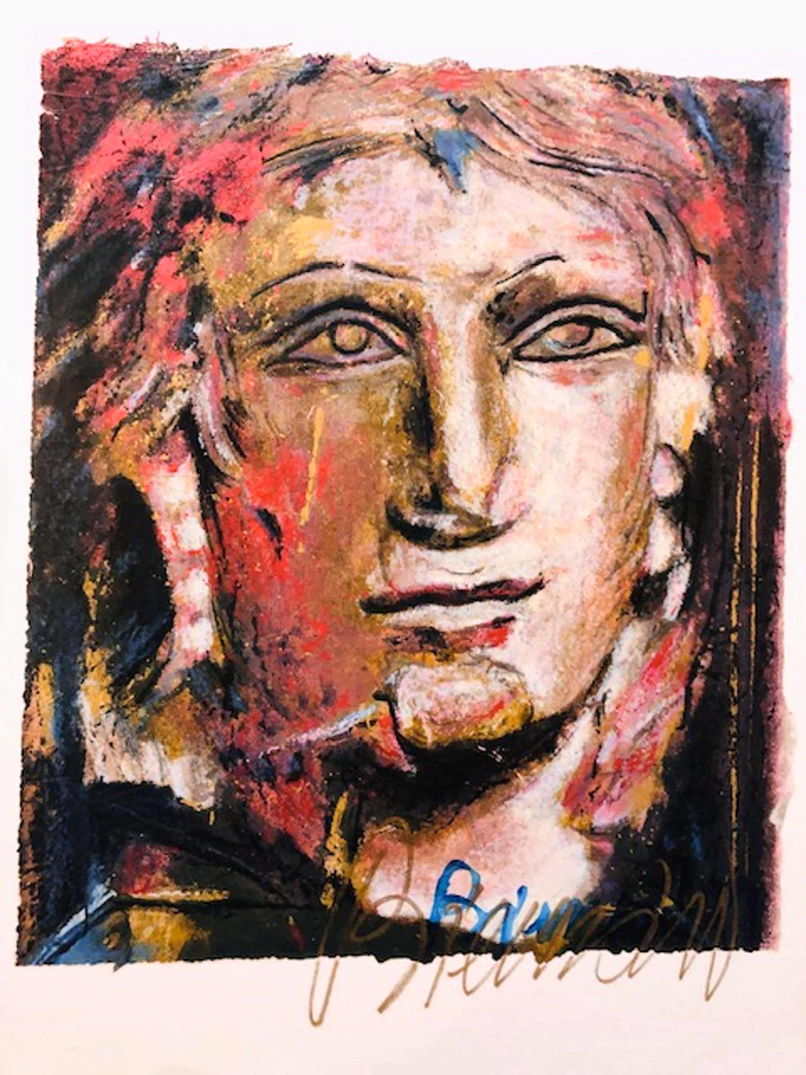 Gerti Bierenbroodspot - portret 'him' kopen? Bied vanaf 70!