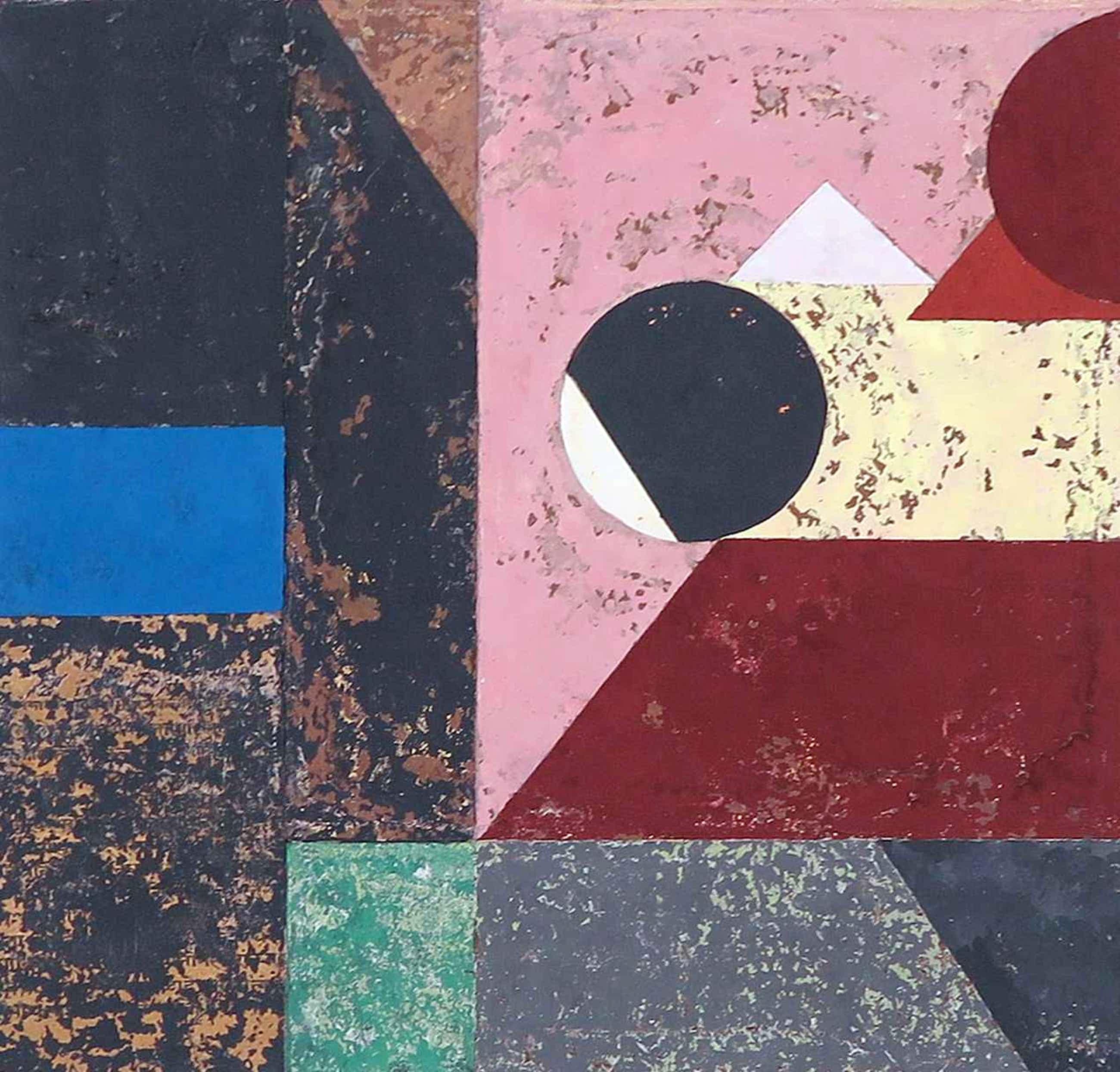 Henri Plaat - Gouache op papier, Abstract kopen? Bied vanaf 50!