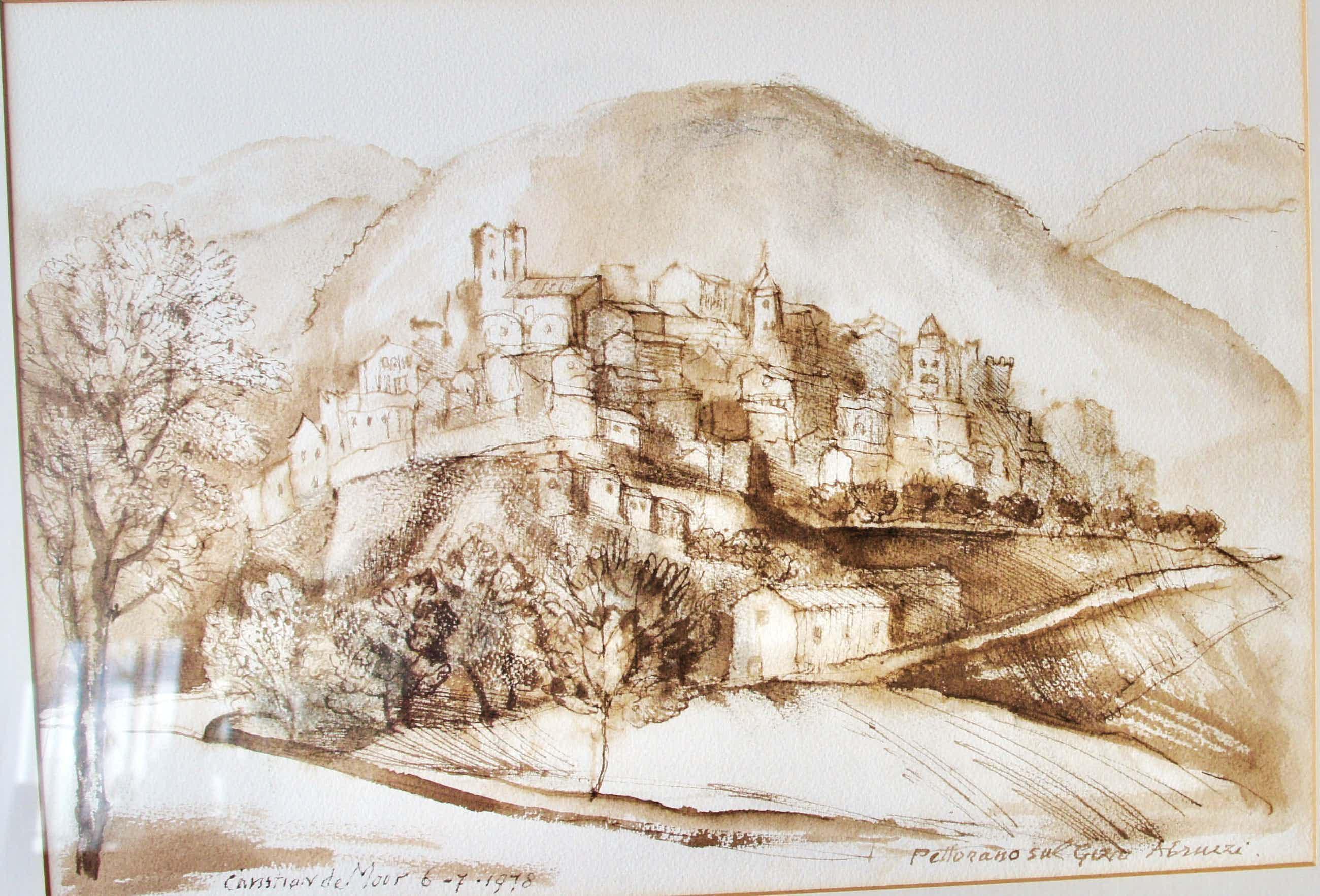 Chris de Moor - bergdorp Abruzzo kopen? Bied vanaf 190!