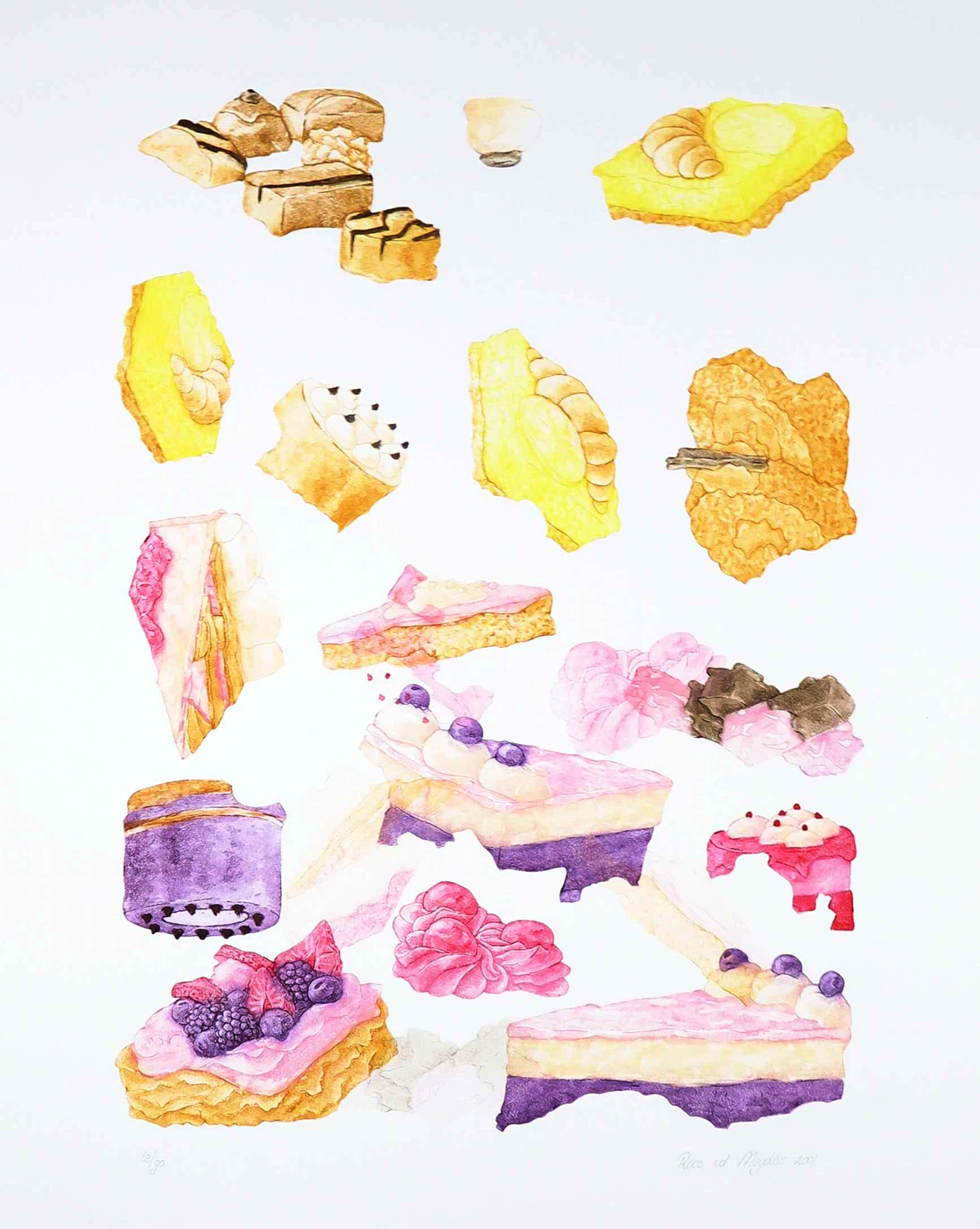 Roos van der Meijden - Ets, Piece of cake kopen? Bied vanaf 1!