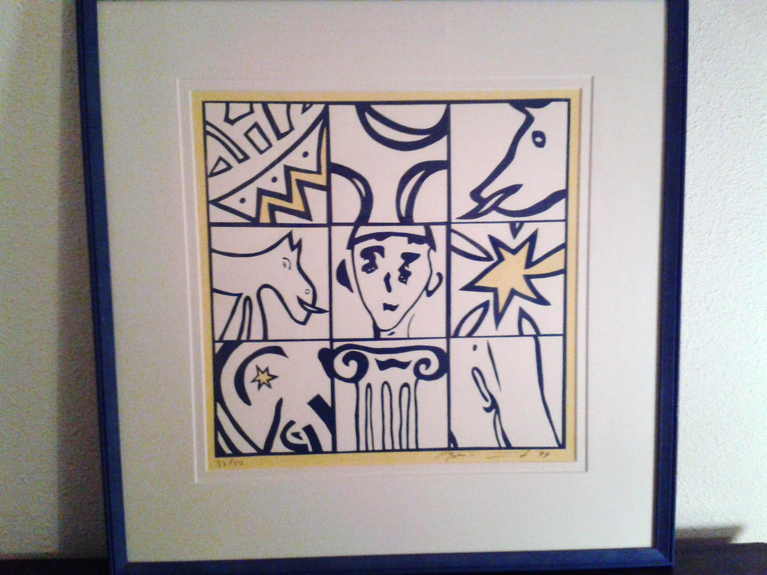 Bart Drost - 3x3 schilderij kopen? Bied vanaf 35!