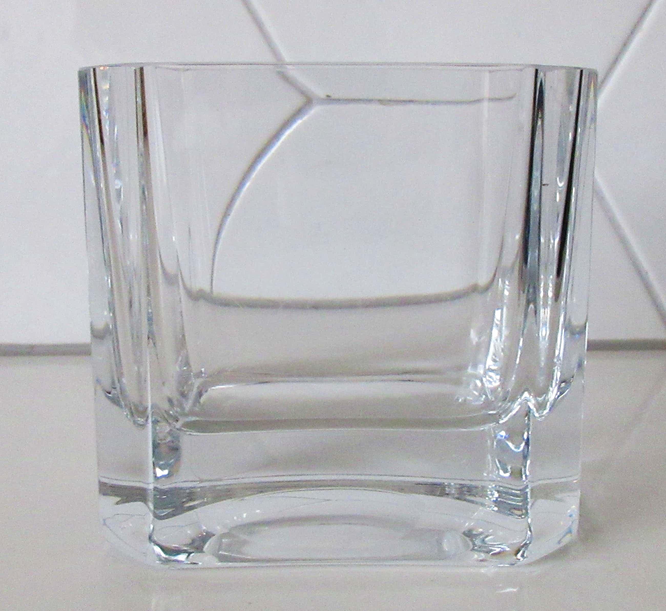 Peill & Putzler - Design blank kristallen rechthoekige vaas kopen? Bied vanaf 10!